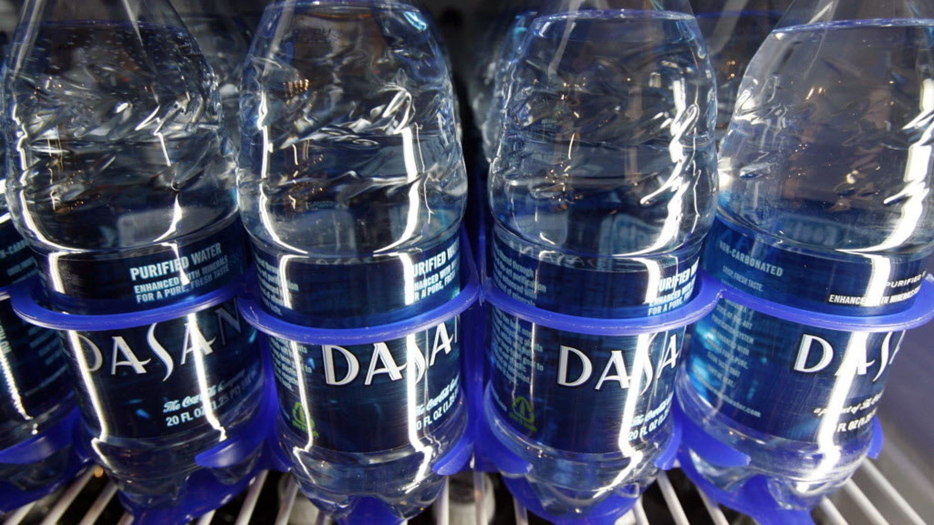 Dasani, owned by the Coca-Cola company, is one of the country's top selling bottled waters.