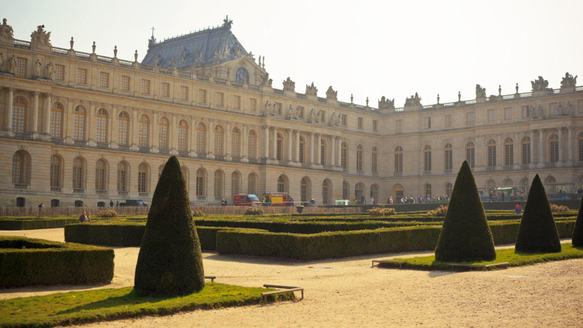 Imagine this beautiful palace view from your hotel room.