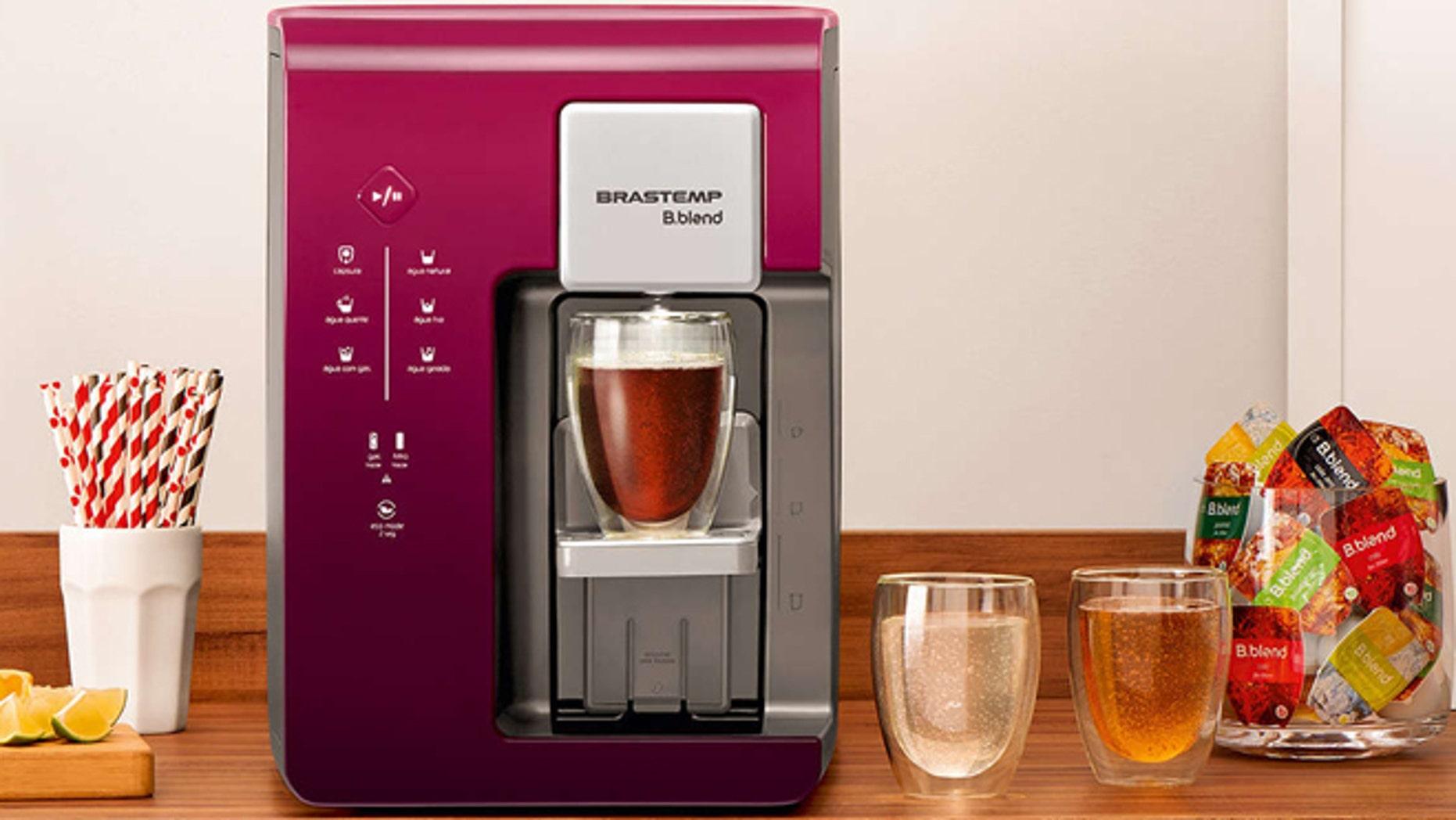 An earlier drink machine release under Whirlpool's Brazilian appliance brand.