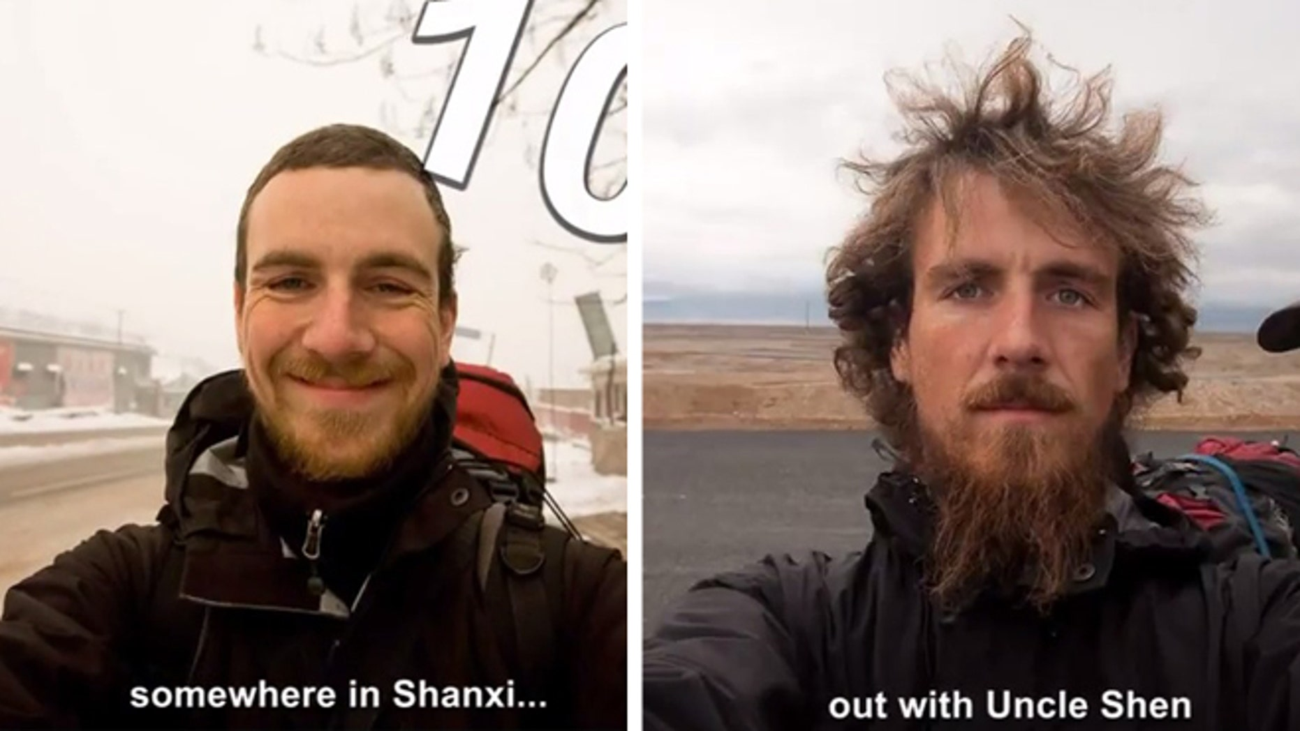 An epic transformation during one man's 2,800 mile trek.