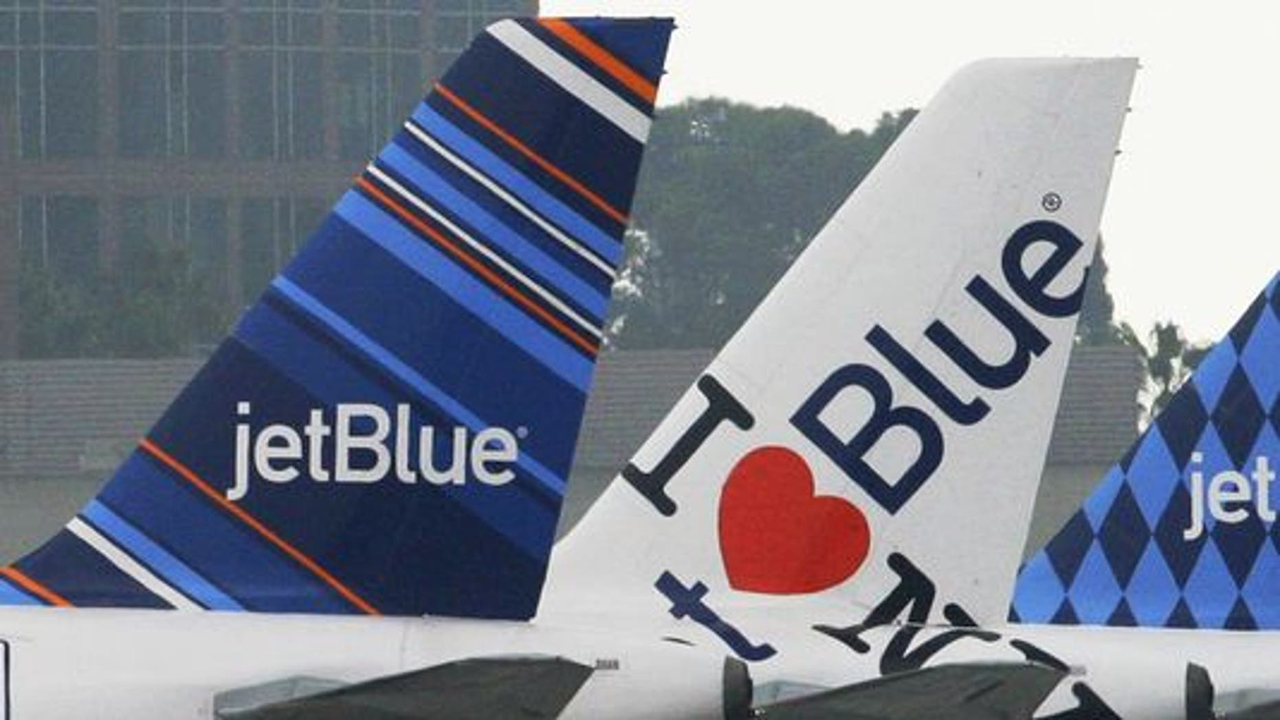 JetBlue rewarded passengers who put up with crying babies.