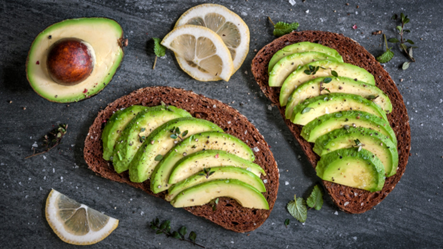 Avocado toast is healthy alternative to a breakfast sandwich loaded down with egg, meat and cheese.