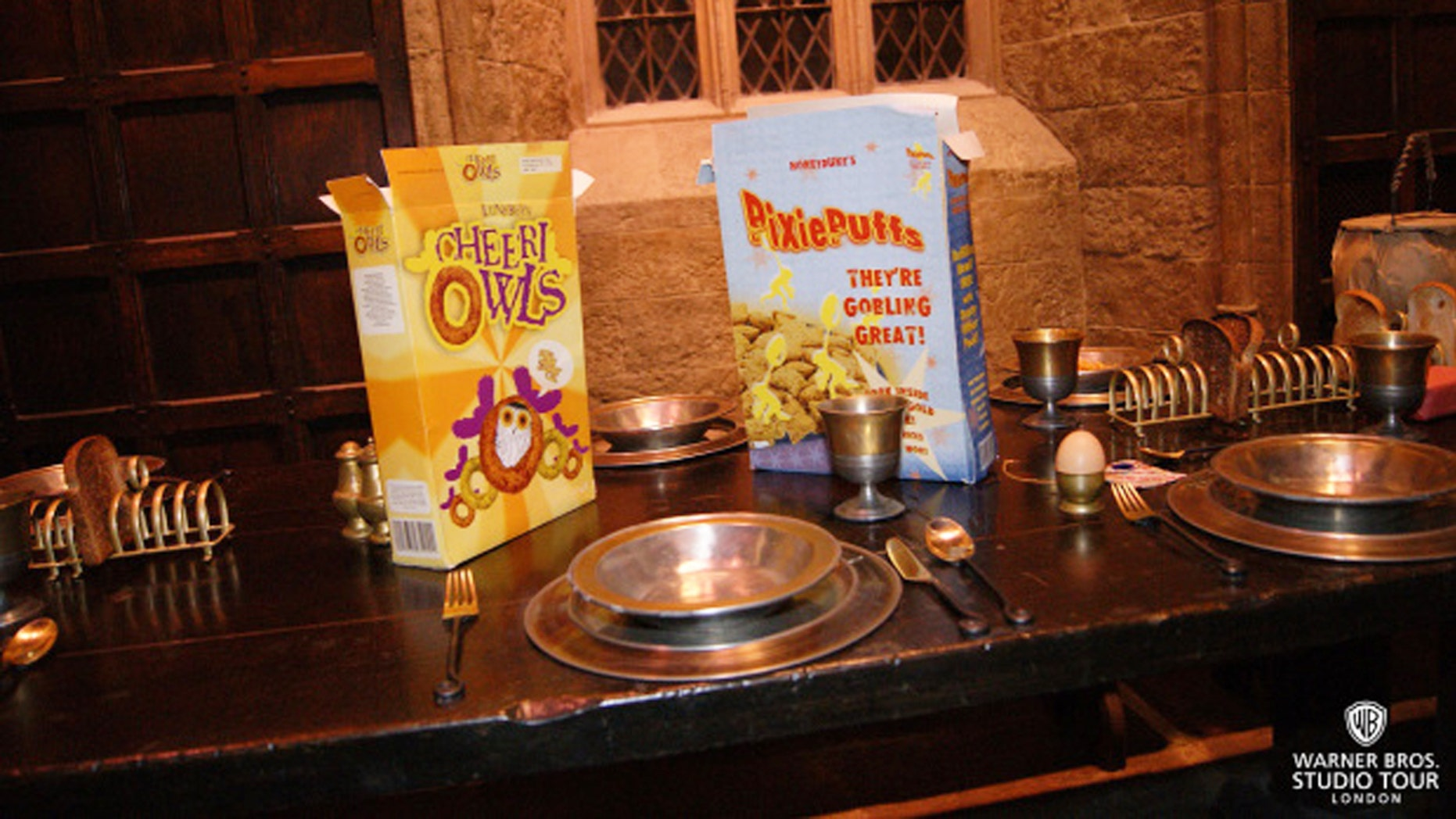 Enjoy a magical breakfast at Warner Bros. Studio London tour this August.