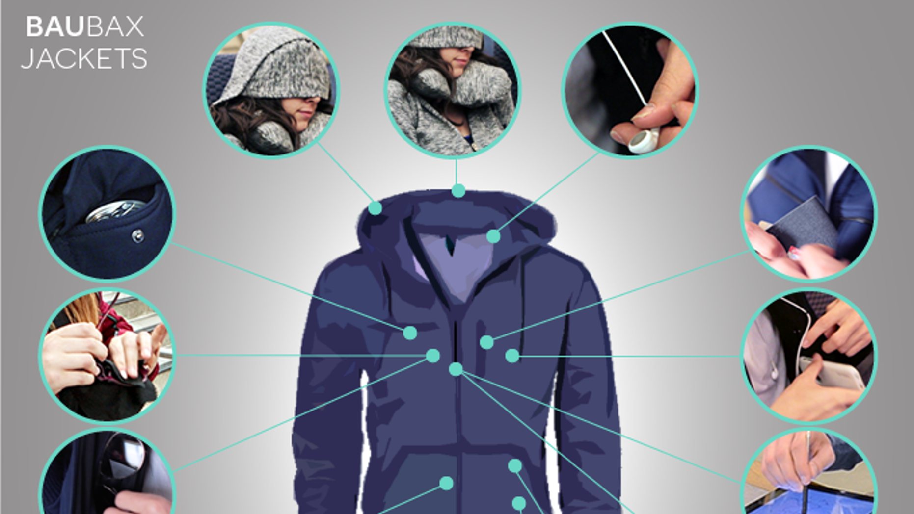 This multi-functional jacket has 15 coveted features for people on the go.
