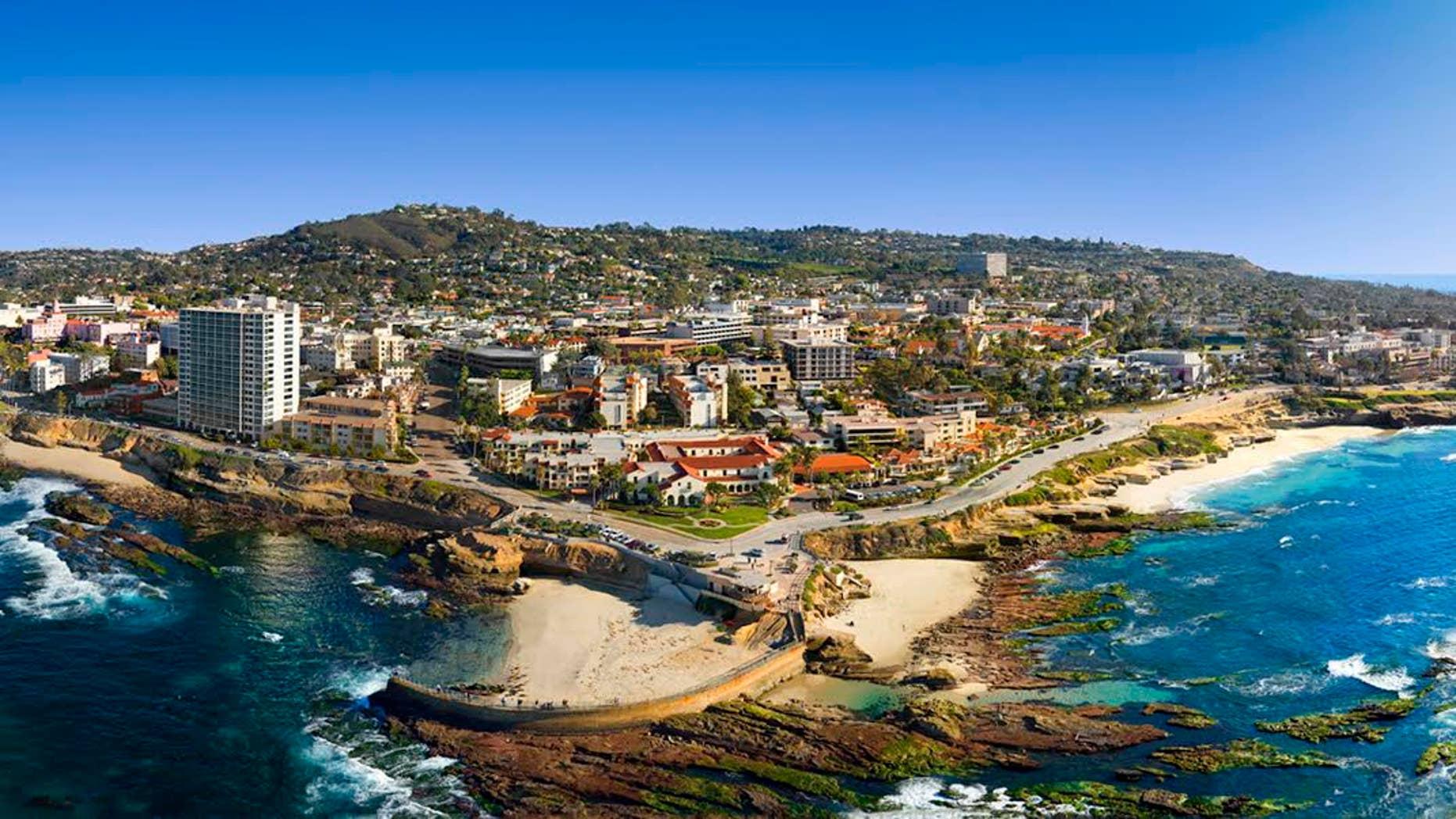 Enjoy sweeping views of San Diego's picturesque La Jolla.