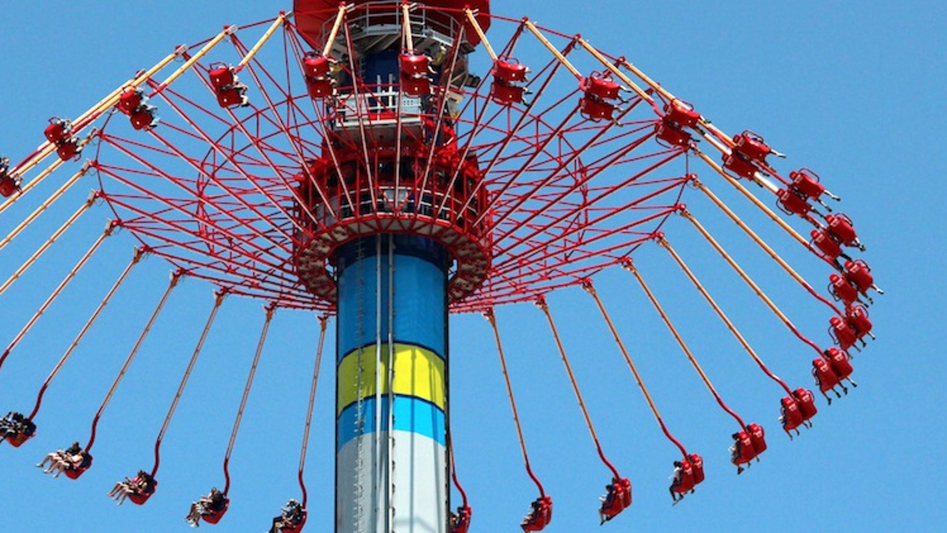 The Windseeker at Carowinds is the park's tallest ride.