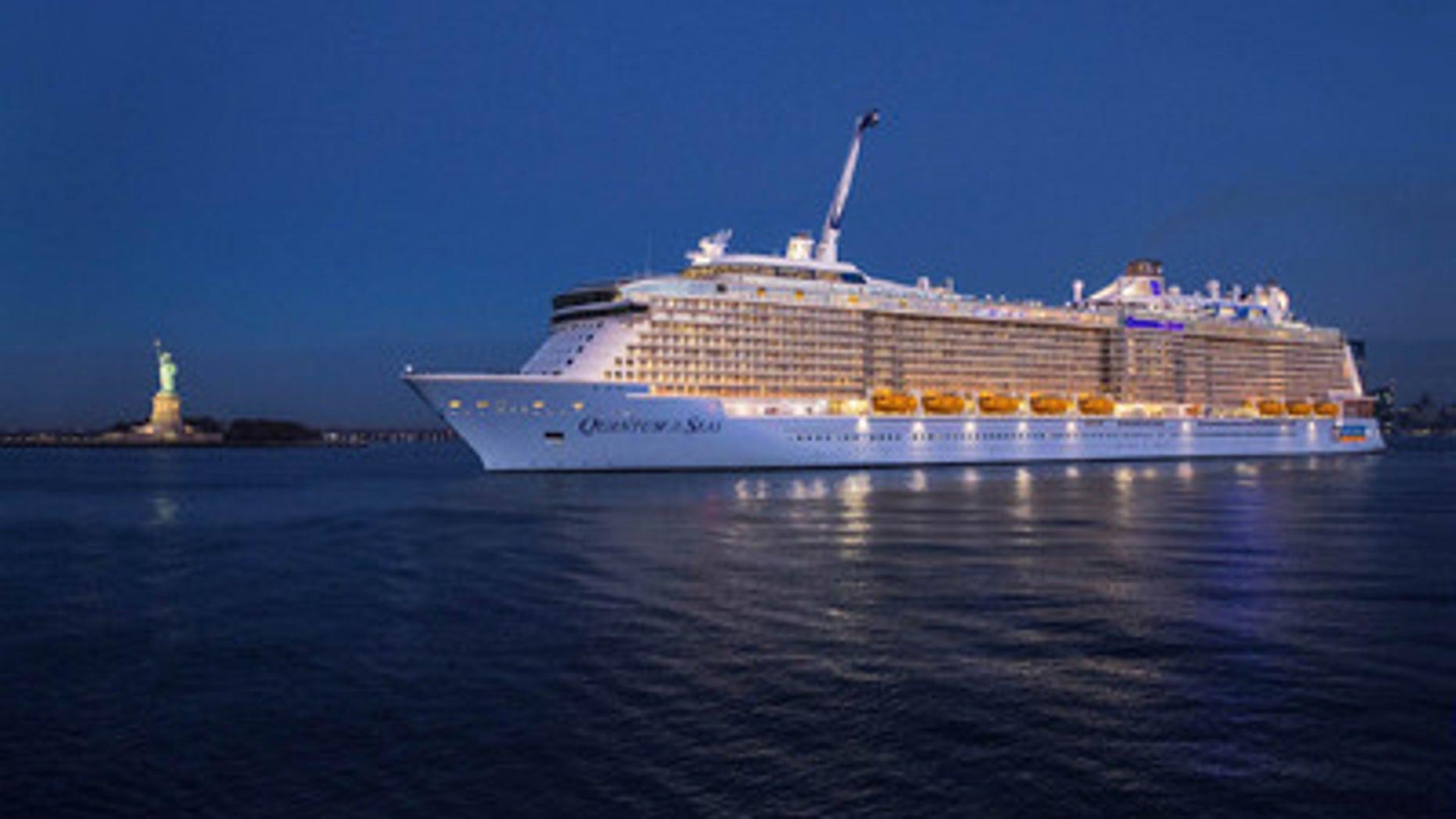 Royal Caribbean's newest ship Quantum of the Seas.