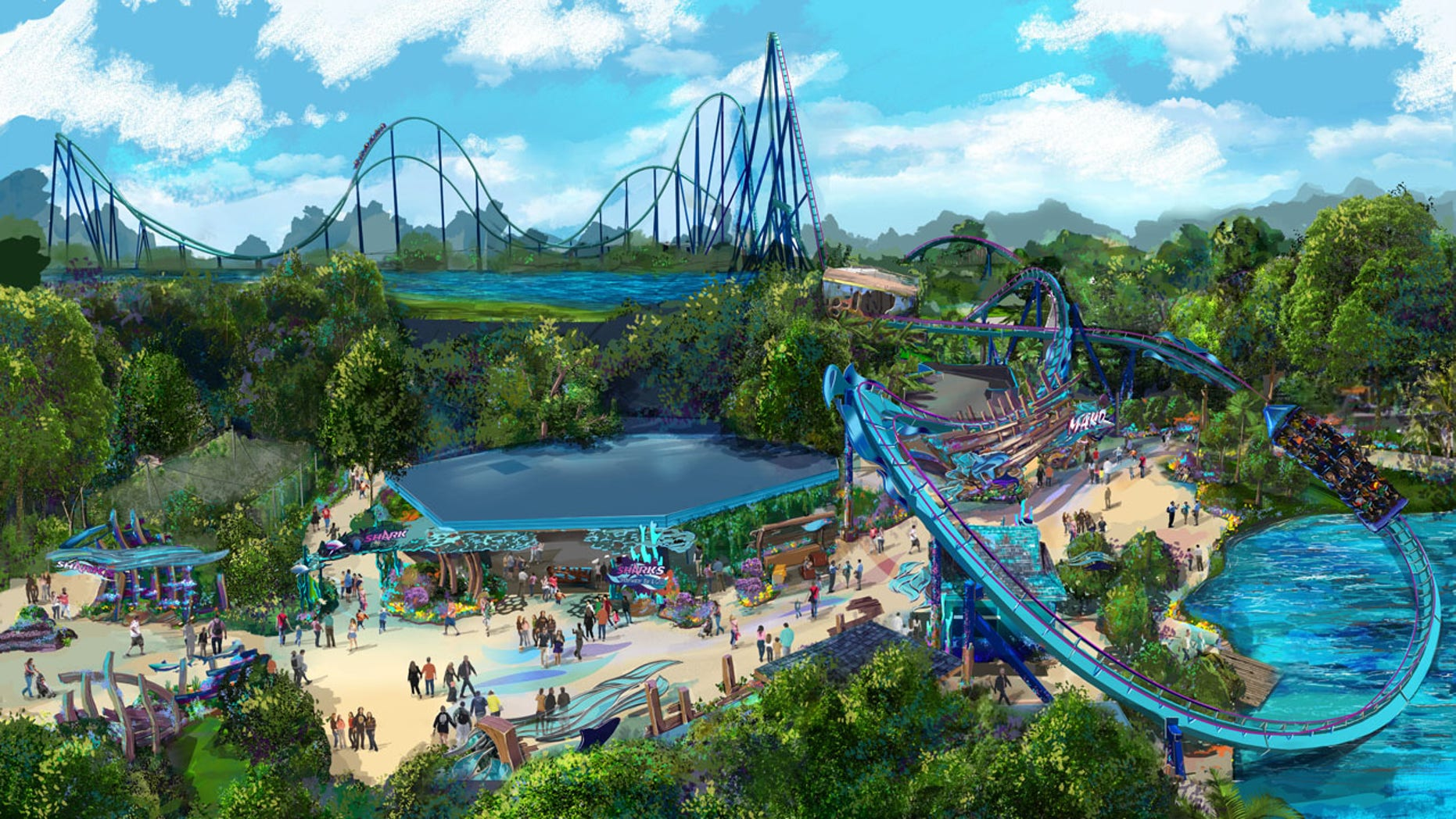 The new Mako coaster is set to open June 10.