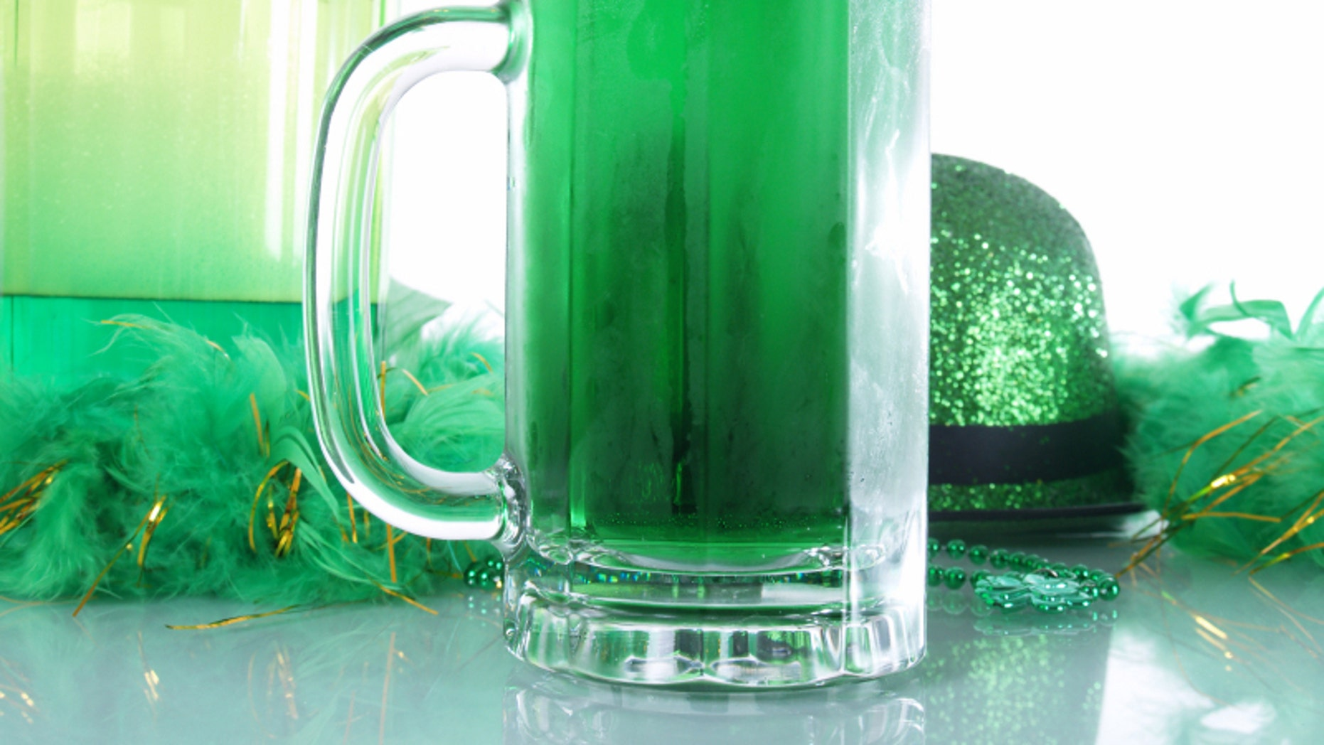 Green beer has become synonymous with St. Patrick's Day.