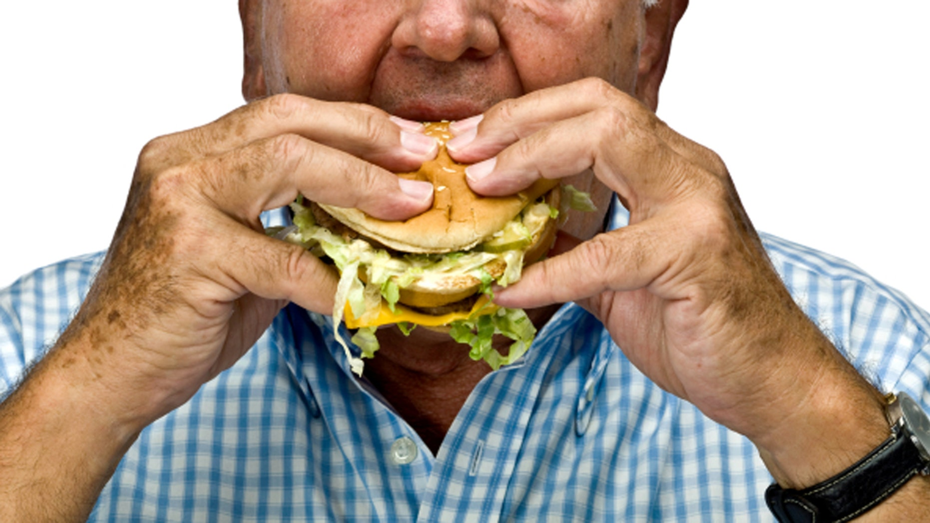 """The Internet is going crazy over the viral story behind """"papaw"""" and his lonely burger dinner."""