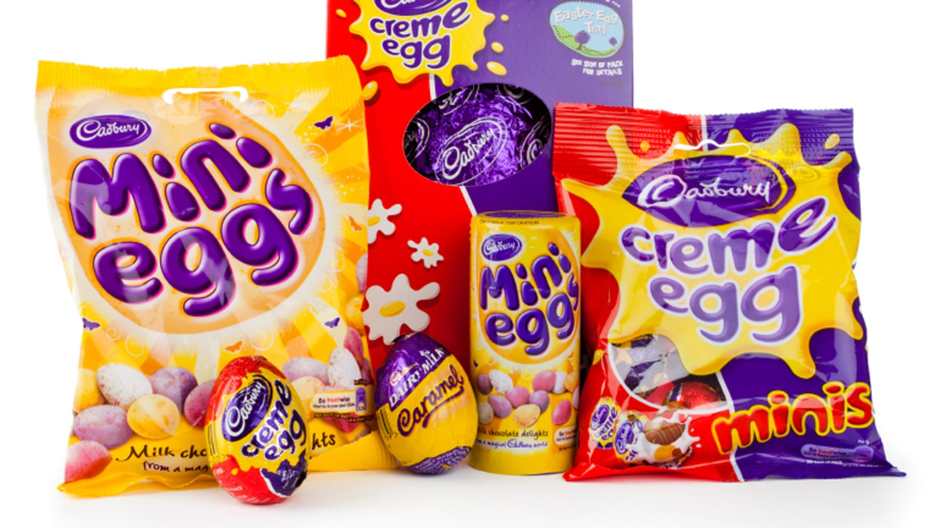 That Cadbury Creme Egg might have more than sugar inside.