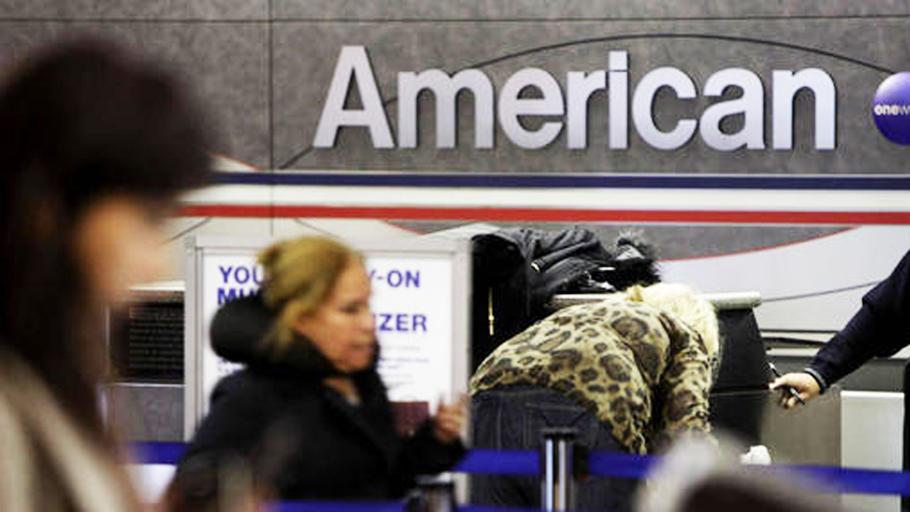 A passenger's meltdown was captured after a 12-hour furloughed flight.