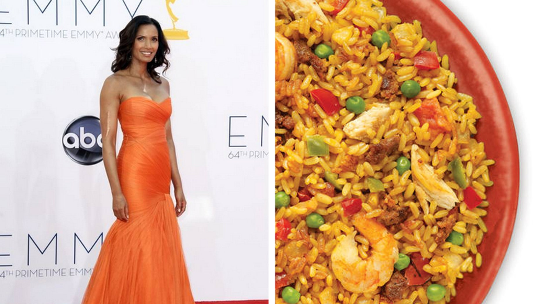 Padma Lakshmi has a frozen paella dish now available at Costco.