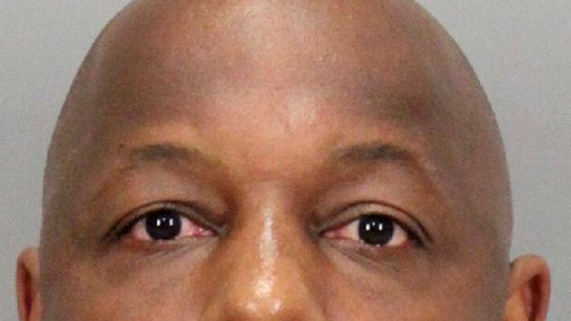 This undated booking photo released by the Santa Clara County District Attorney shows former NFL player Dana Stubblefield.