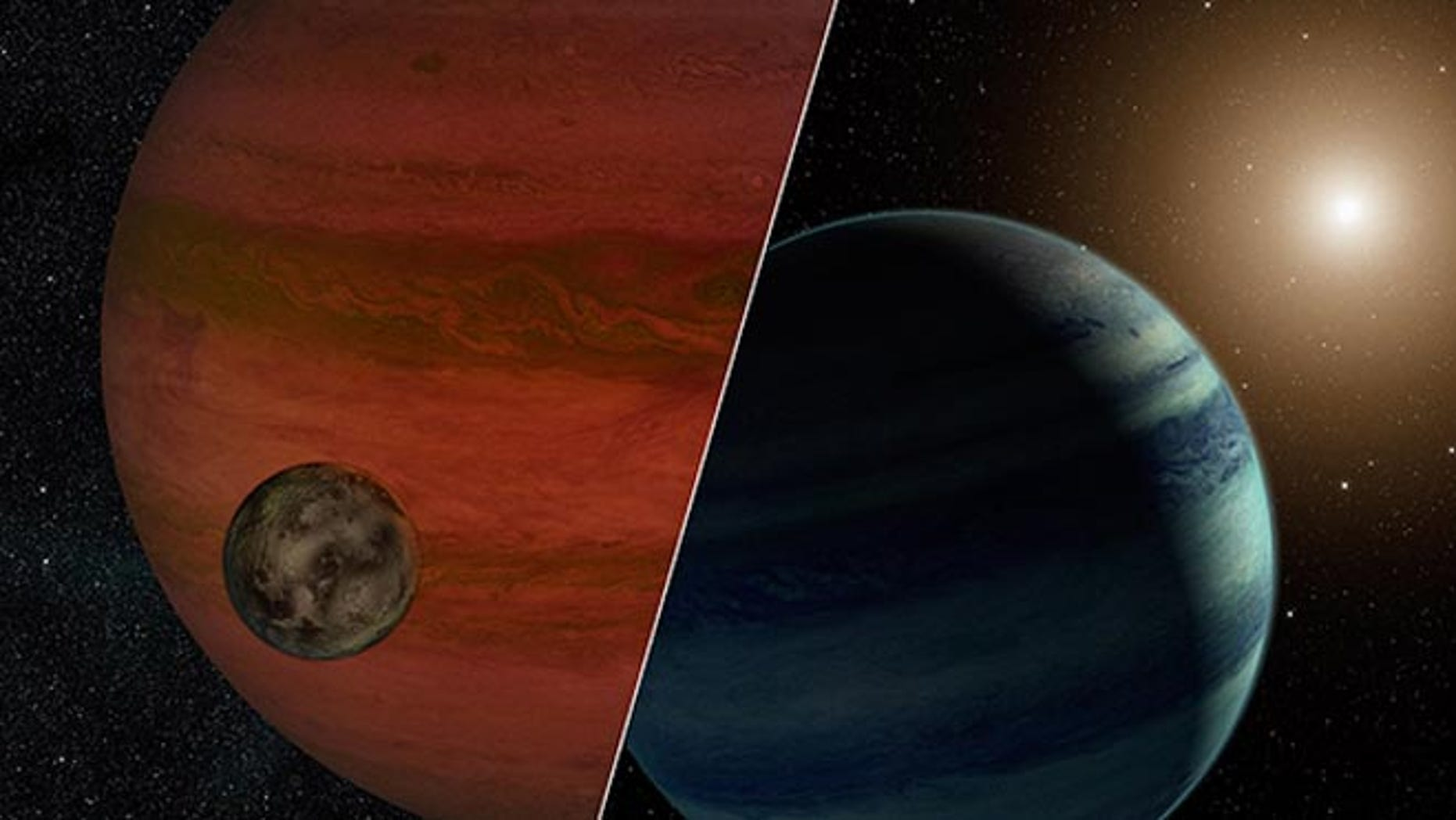 """Researchers have detected the first """"exomoon"""" candidate -- a moon orbiting a planet that lies outside our solar system"""