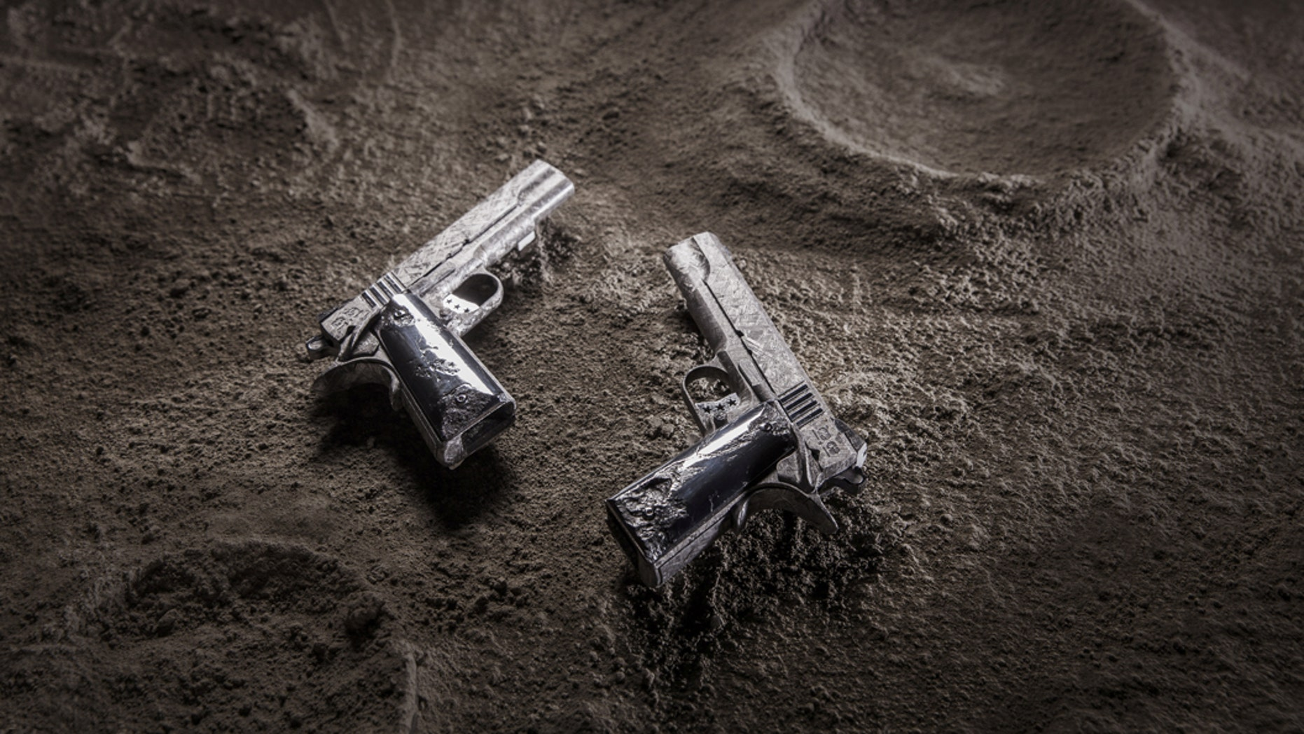 A high-end weapons company in the U.S. has produced what are the world's most expensive handguns, at $2.25 million each.