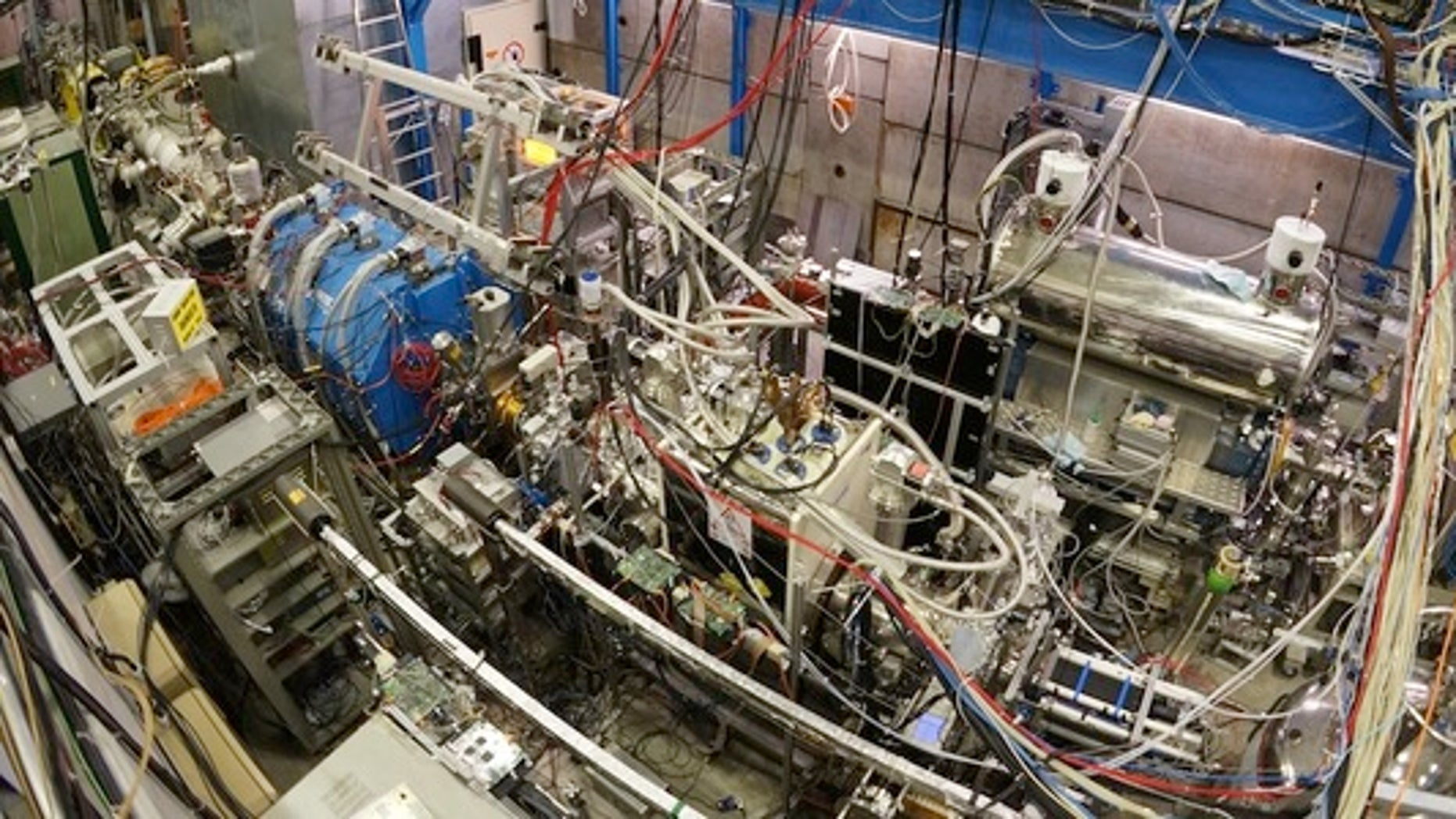 Equipment in the Antiproton Decelerator at CERN.
