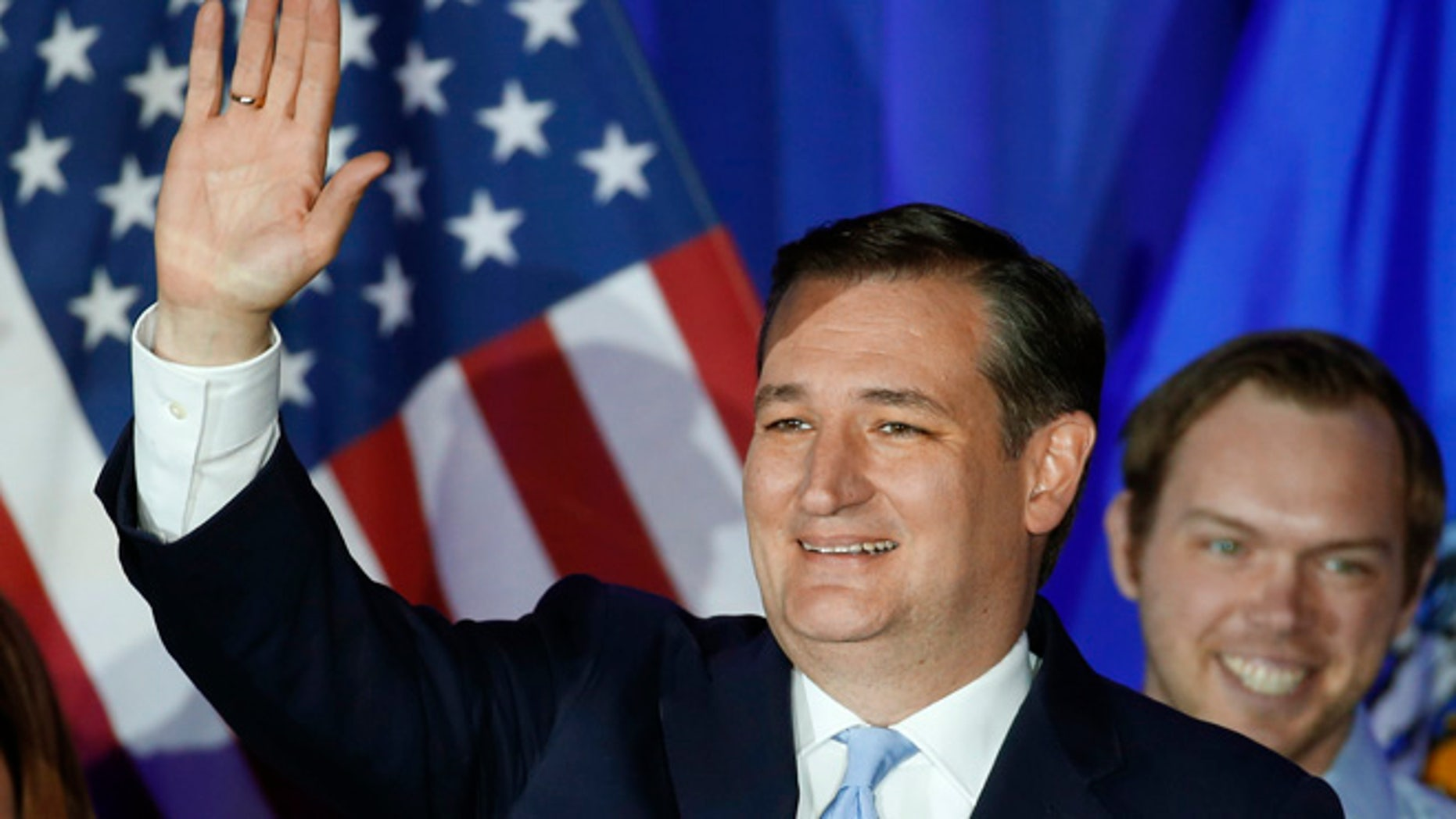 Republican presidential candidate Sen. Ted Cruz on Tuesday, April 5, 2016, in Milwaukee.