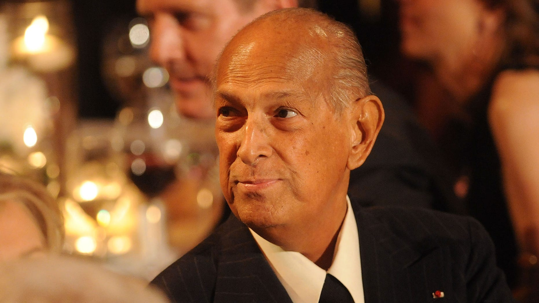 NEW YORK, NY - APRIL 24:  Designer Oscar de la Renta attends the 2014 Carnegie Hall Medal Of Excellence Gala Honoring Oscar De La Renta at The Plaza Hotel on April 24, 2014 in New York City.  (Photo by Brad Barket/Getty Images)