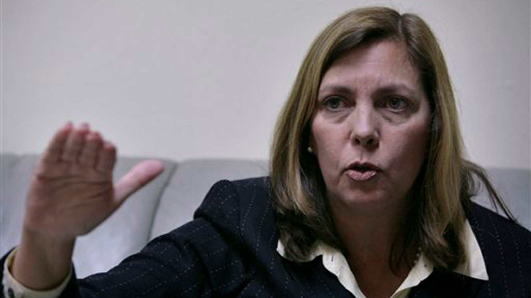 Josefina Vidal, director of the Cuban Foreign Ministry's North American affairs office, speaks during an interview with The Associated Press in Havana, Tuesday, Jan. 5, 2010. (AP)