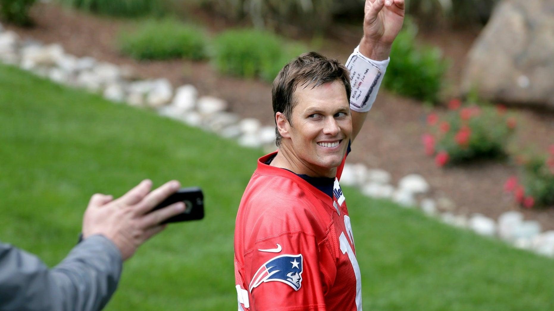 Tom Brady was fat-shamed on social media.