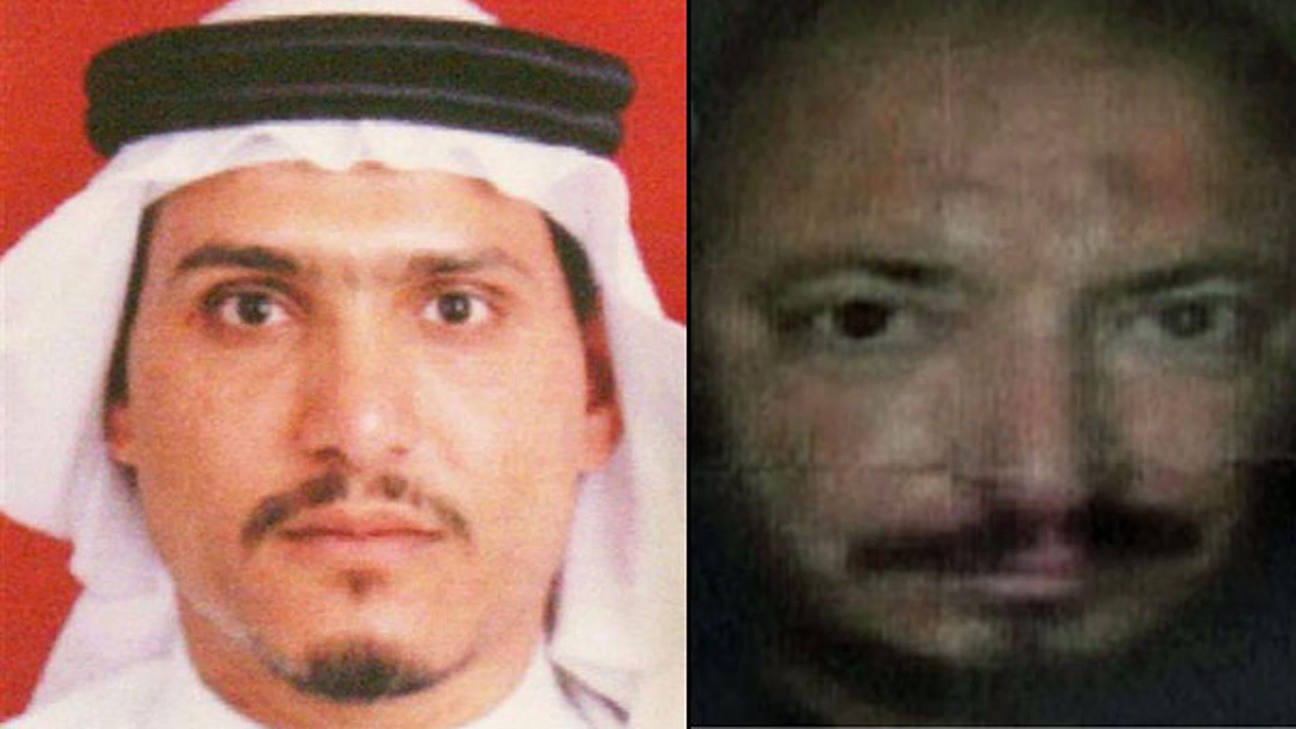 Al Qaeda in Iraq leaders Abu Ayyub al-Masri and Abu Omar al-Baghdadi