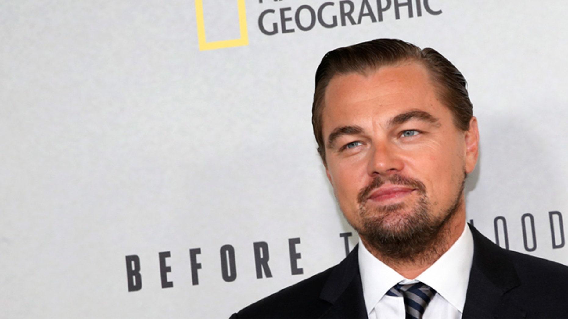 Leonardo DiCaprio is proud of his dad bod.