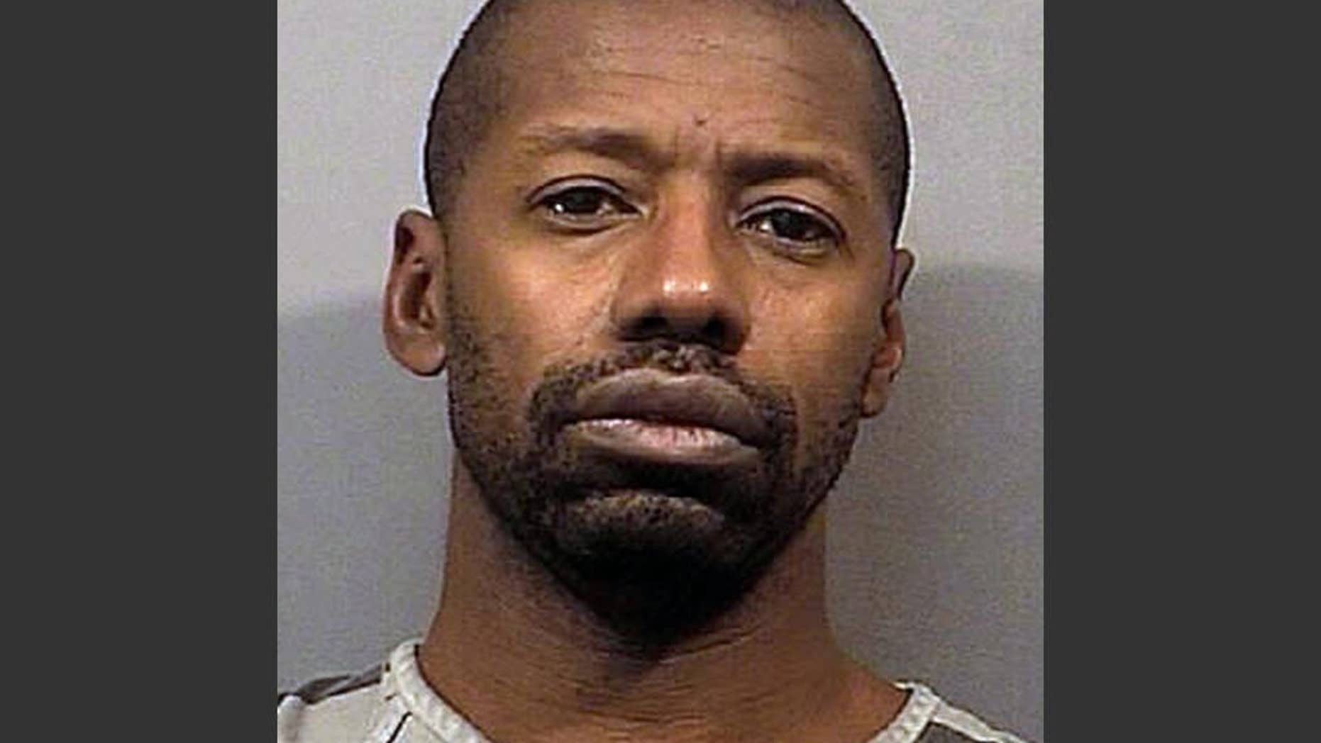 This undated photo provided by the Lake County Sheriff's office shows Darren Vann. Vann, 43, of Gary, Ind., was charged Monday, Oct. 20, 2014 in the death of 19-year-old Afrikka Hardy, whose body was found Friday night at a Motel 6 in nearby Hammond, Ind. Hammond Police Chief John Doughty says Vann confessed to Hardy's slaying and directed police to six bodies in Gary. (AP Photo/Lake County Sheriff's Office)