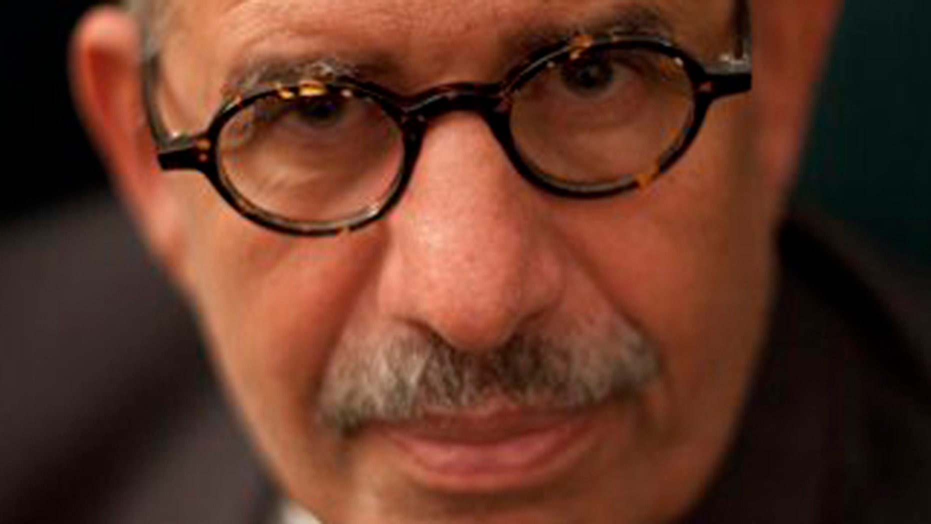 December 4, 2011: Pro-reform leader and Nobel peace laureate Mohamed ElBaradei poses for a portrait during an interview with The Associated Press in his home in Giza, on the outskirts of Cairo, Egypt.