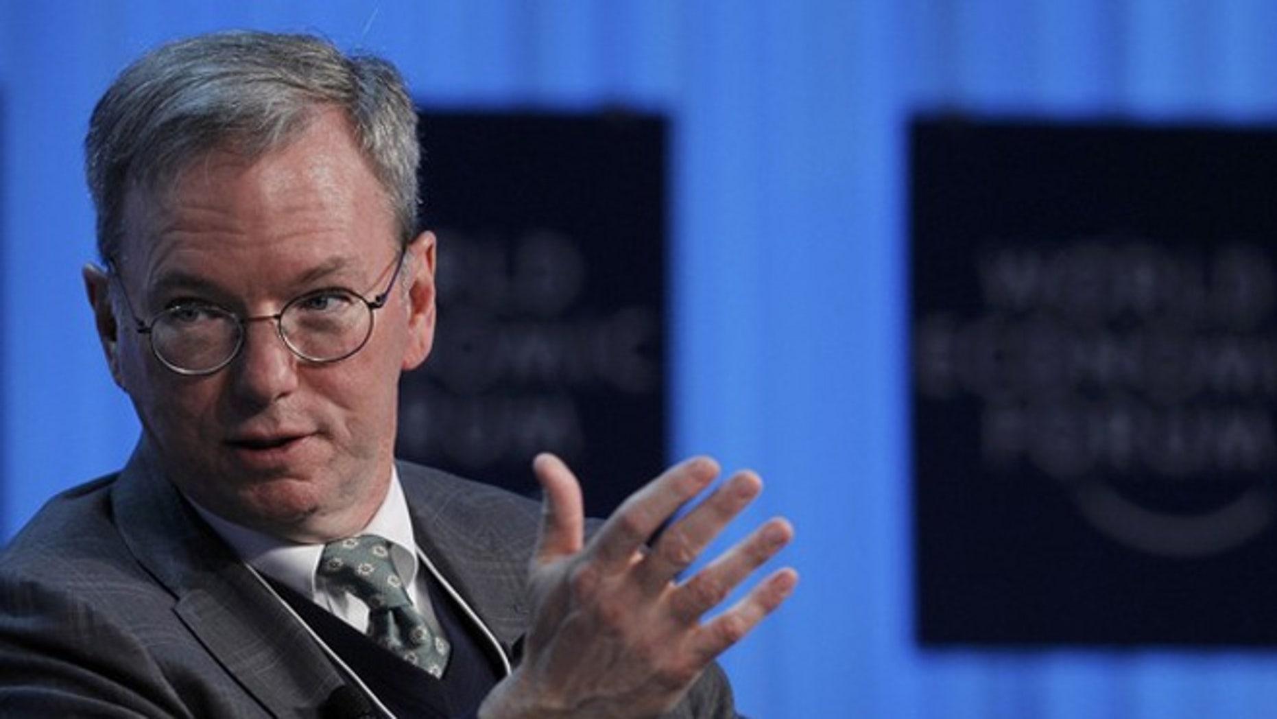 Google chairman Eric Schmidt looks to appease European regulators.