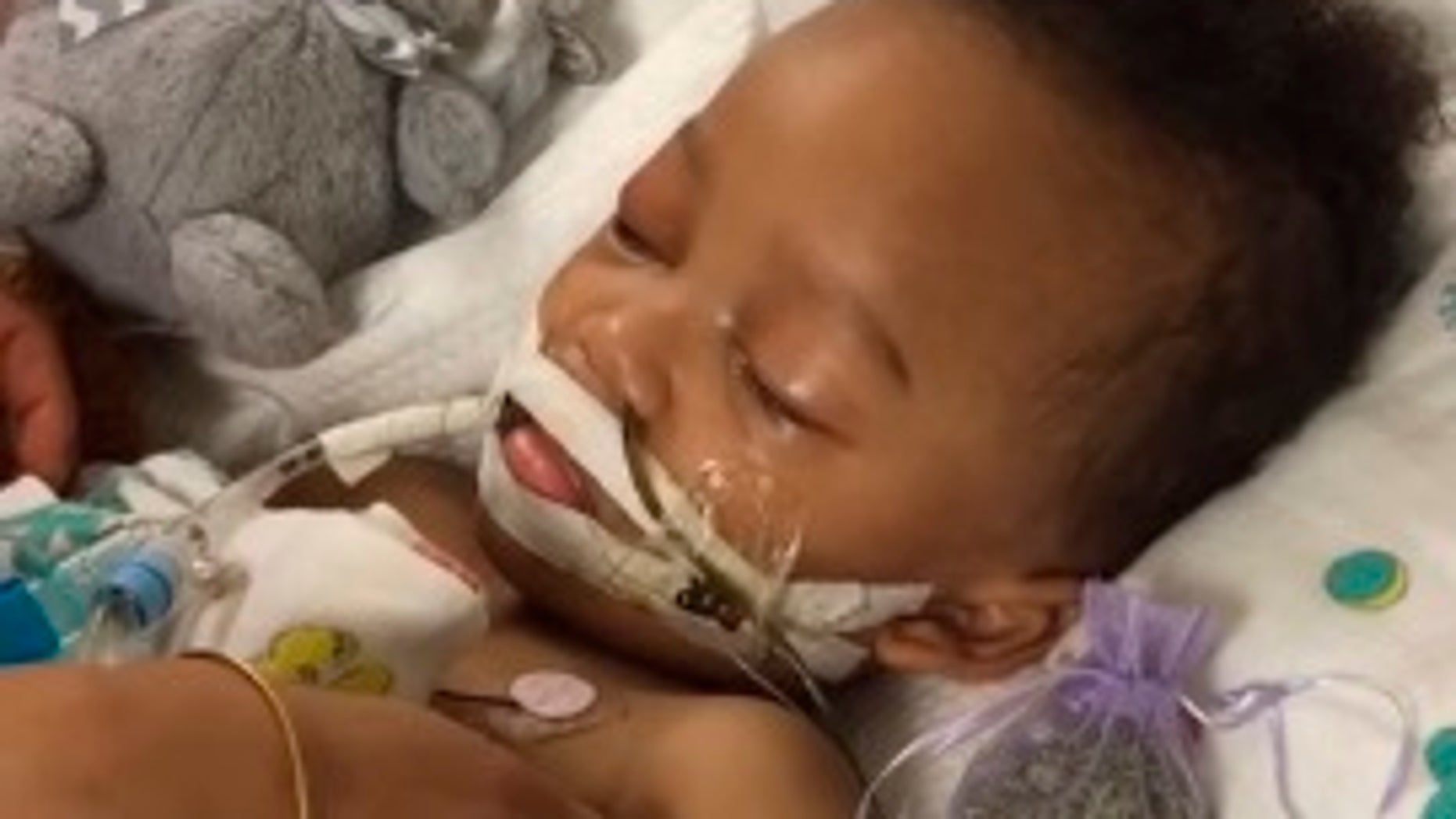 Israel Stinson was declared brain dead after suffering from an apparent asthma attack.
