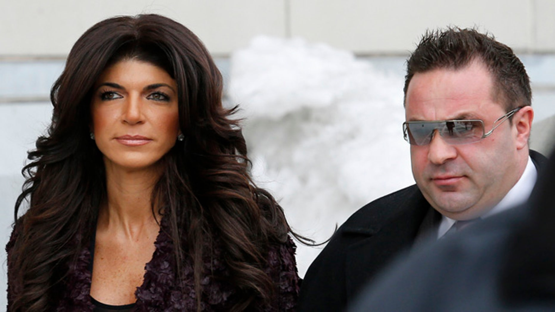 Teresa Giudice reacted to the news her husband, Joe, will be deported after he finishes his prison sentence.