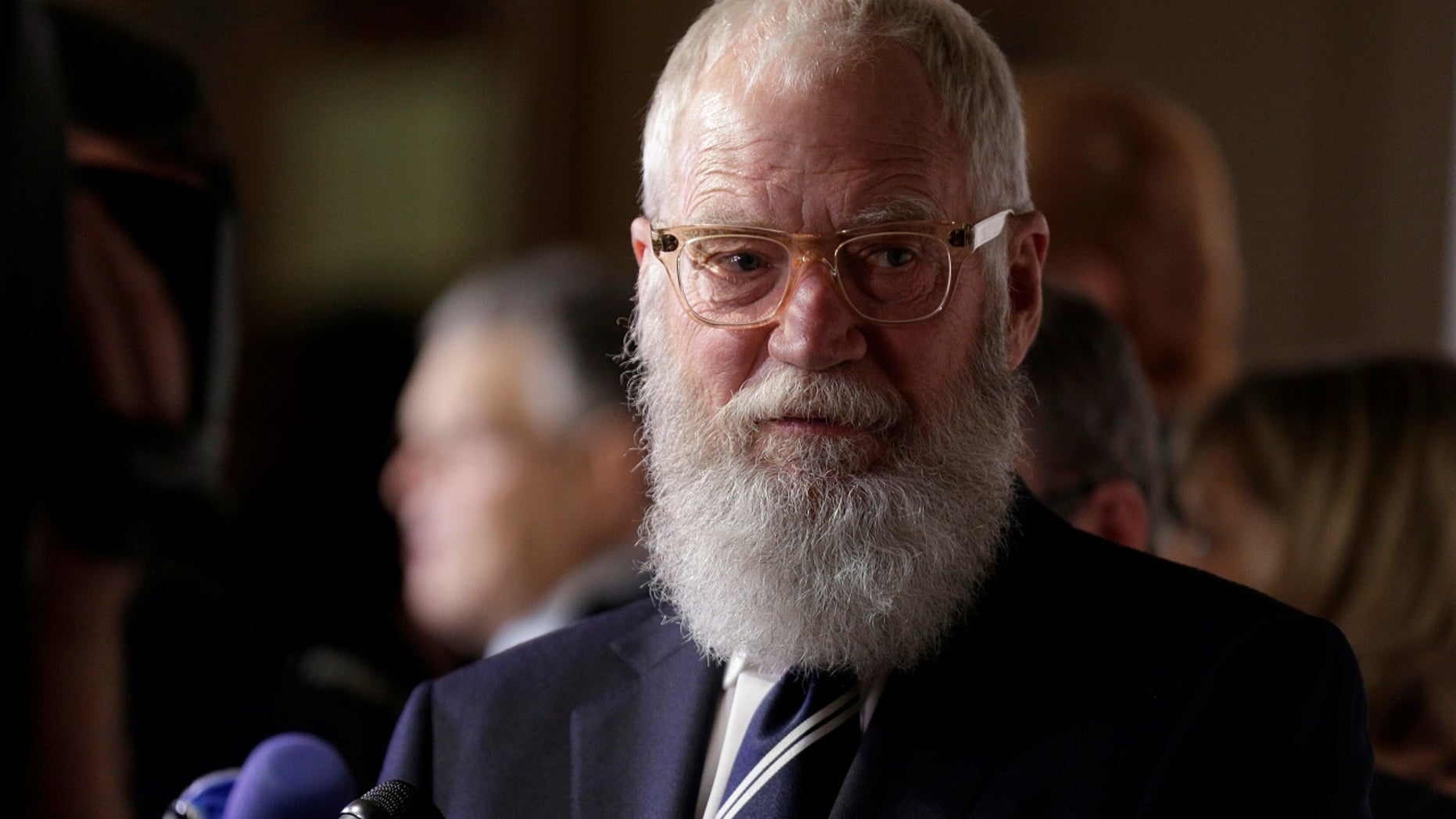 """Former """"Late Show"""" host David Letterman received the Mark Twain Prize for American Humor in October. The event was broadcast on PBS on Monday night."""