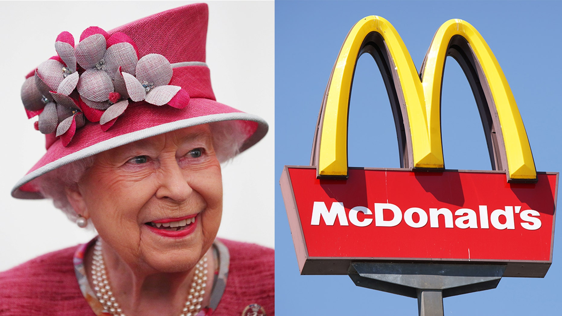 Apparently the Queen owns her very own McDonald's franchise 80 miles outside London
