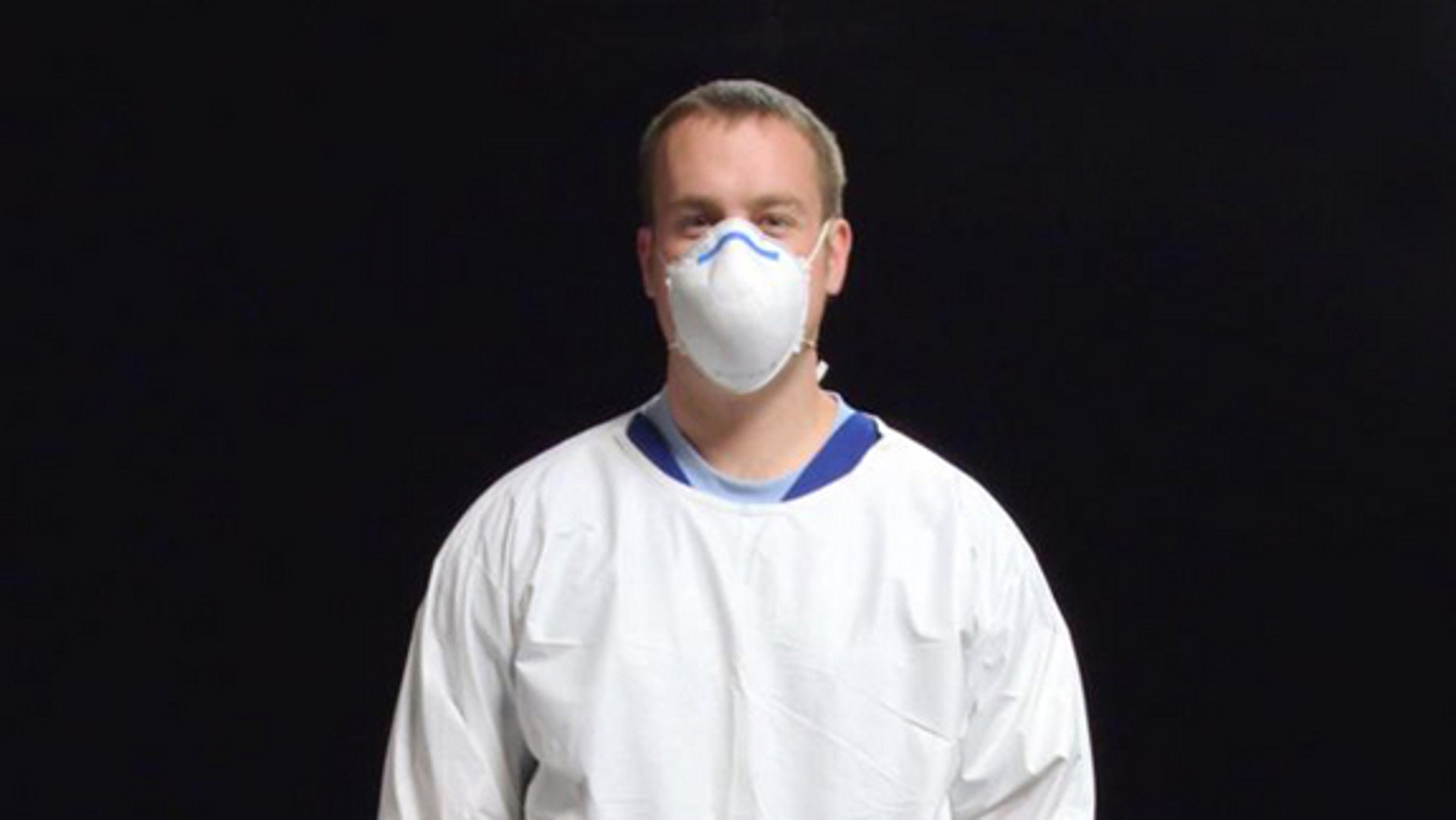 When it comes to preventing flu spread, especially during a pandemic, wearing face masks like this one could be medically and economically effective.