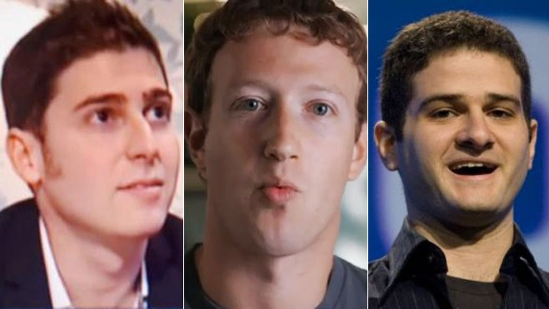 Facebook's Eduardo Saverin, Mark Zuckerberg and Dustin Moskowitz -- the youngest billionaires in the world, according to Forbes.