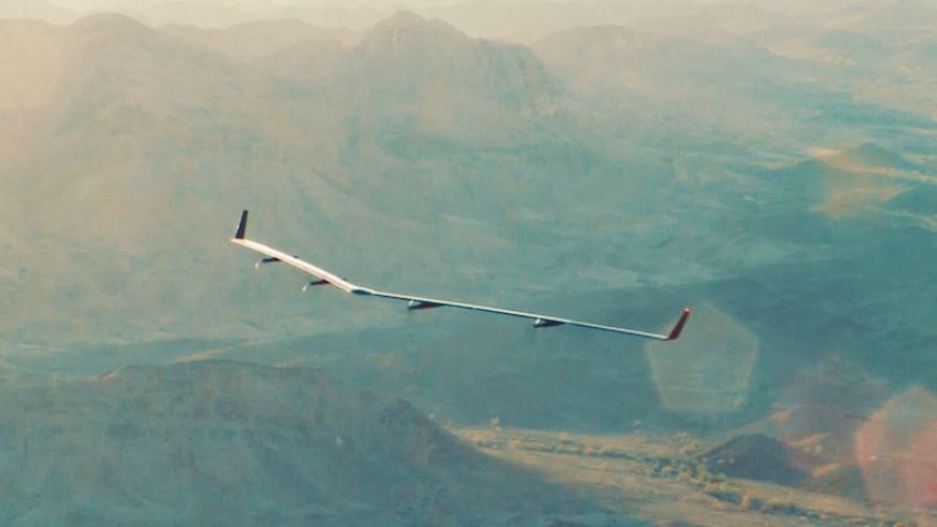 Aquila in flight.  (Facebook)