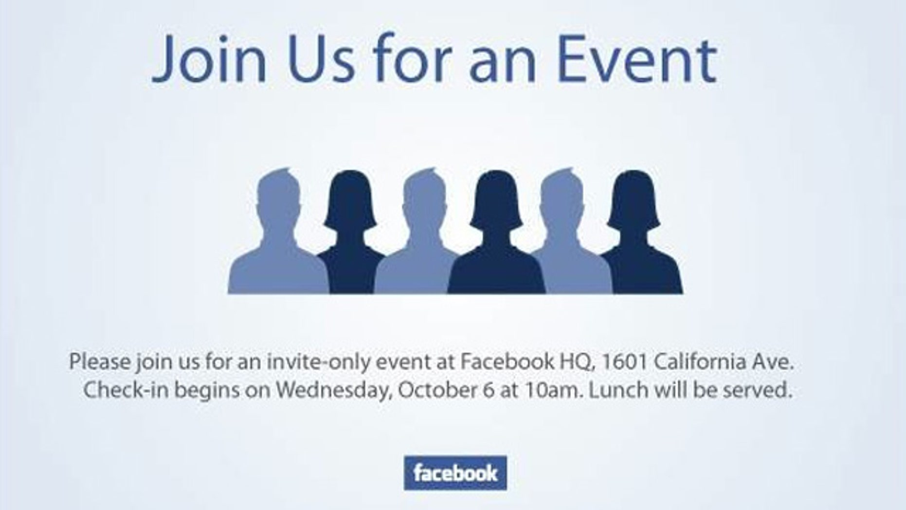 The lack of actual details means speculation about Facebook's event Wednesday is running wild.