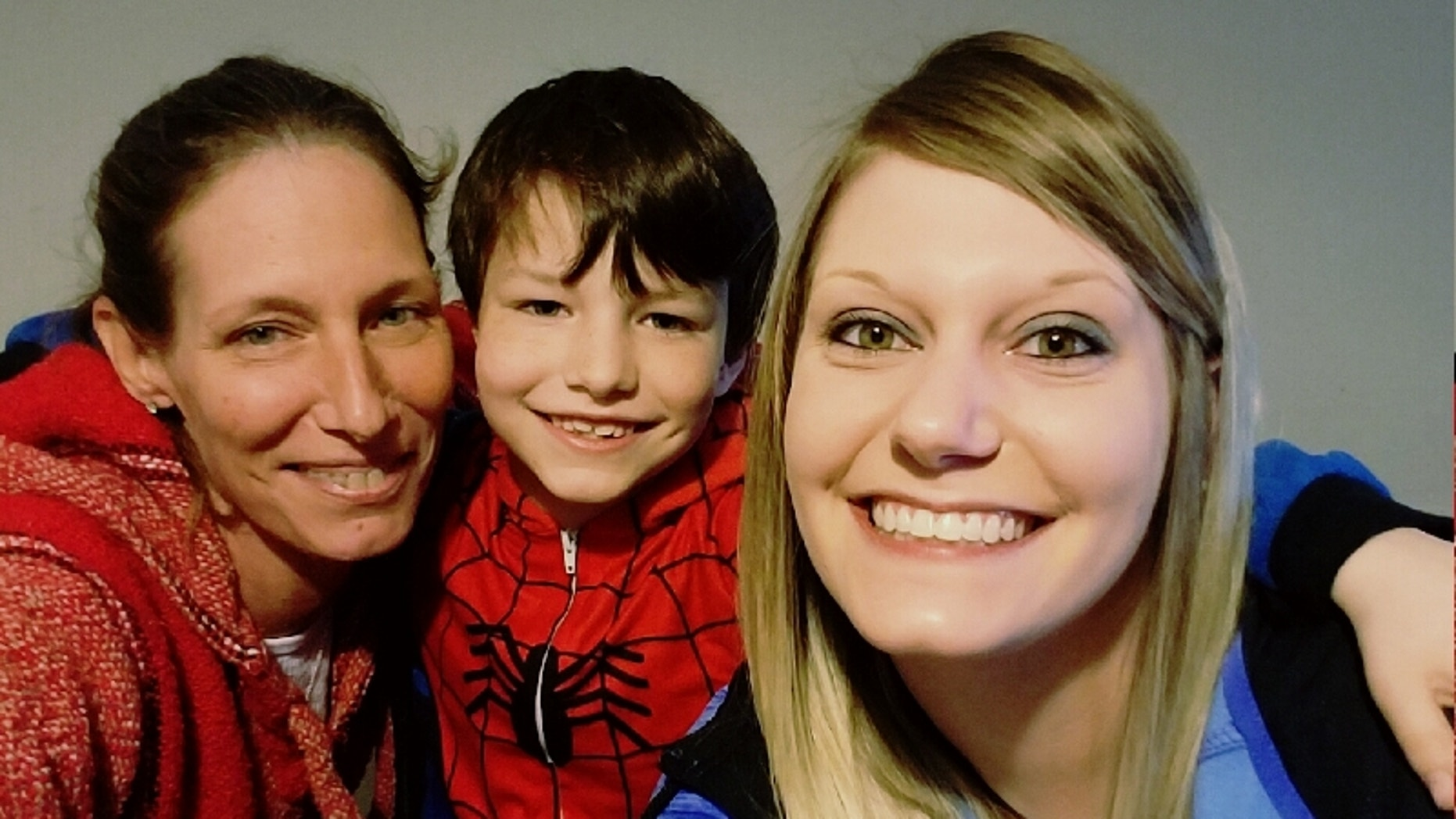 Tracy Dowdy Fain, left, suffered a stroke while at an appointment with her son.