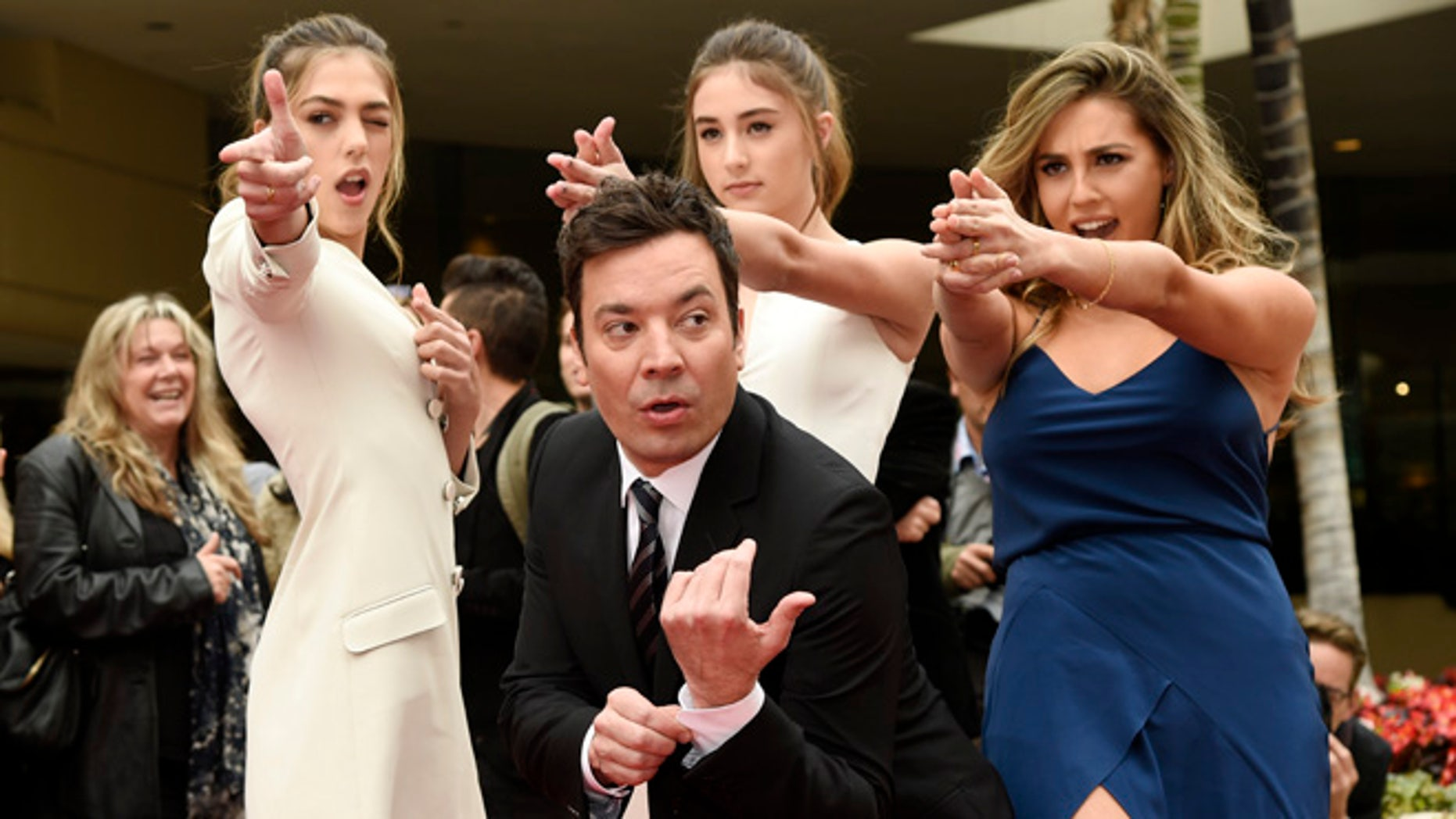 Jimmy Fallon will be hosting this year's Golden Globes ceremony.