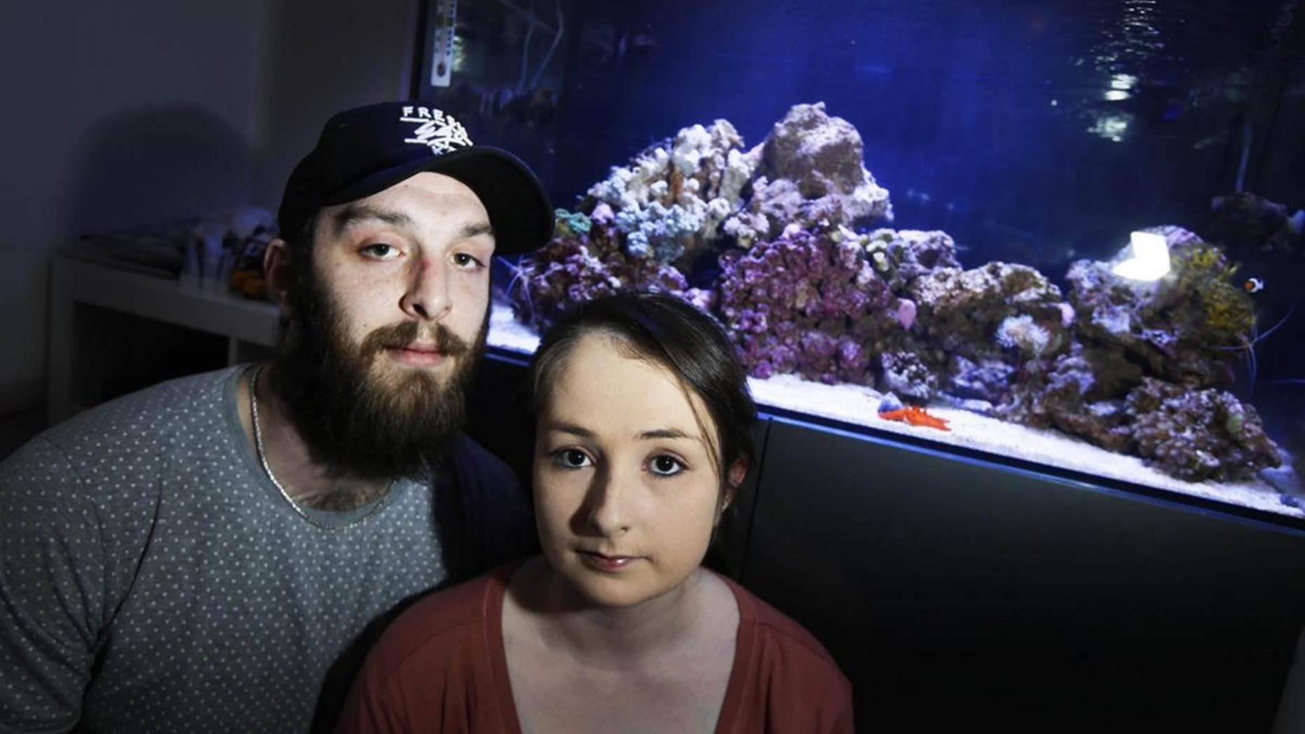 Chris Matthews and his girlfriend were hospitalized on March 29, 2018, after suffering from toxic fumes released by coral.