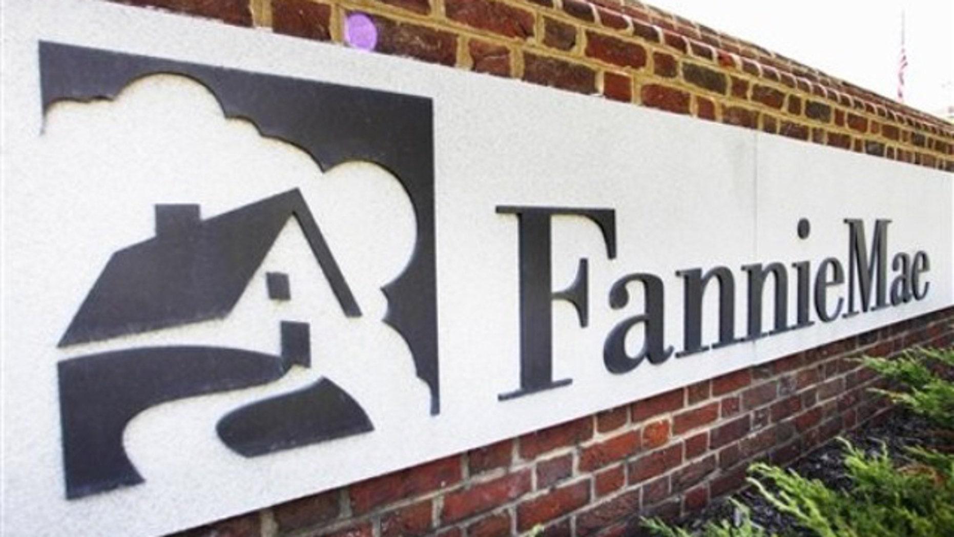 Aug. 8, 2011: The Fannie Mae headquarters is seen in Washington.