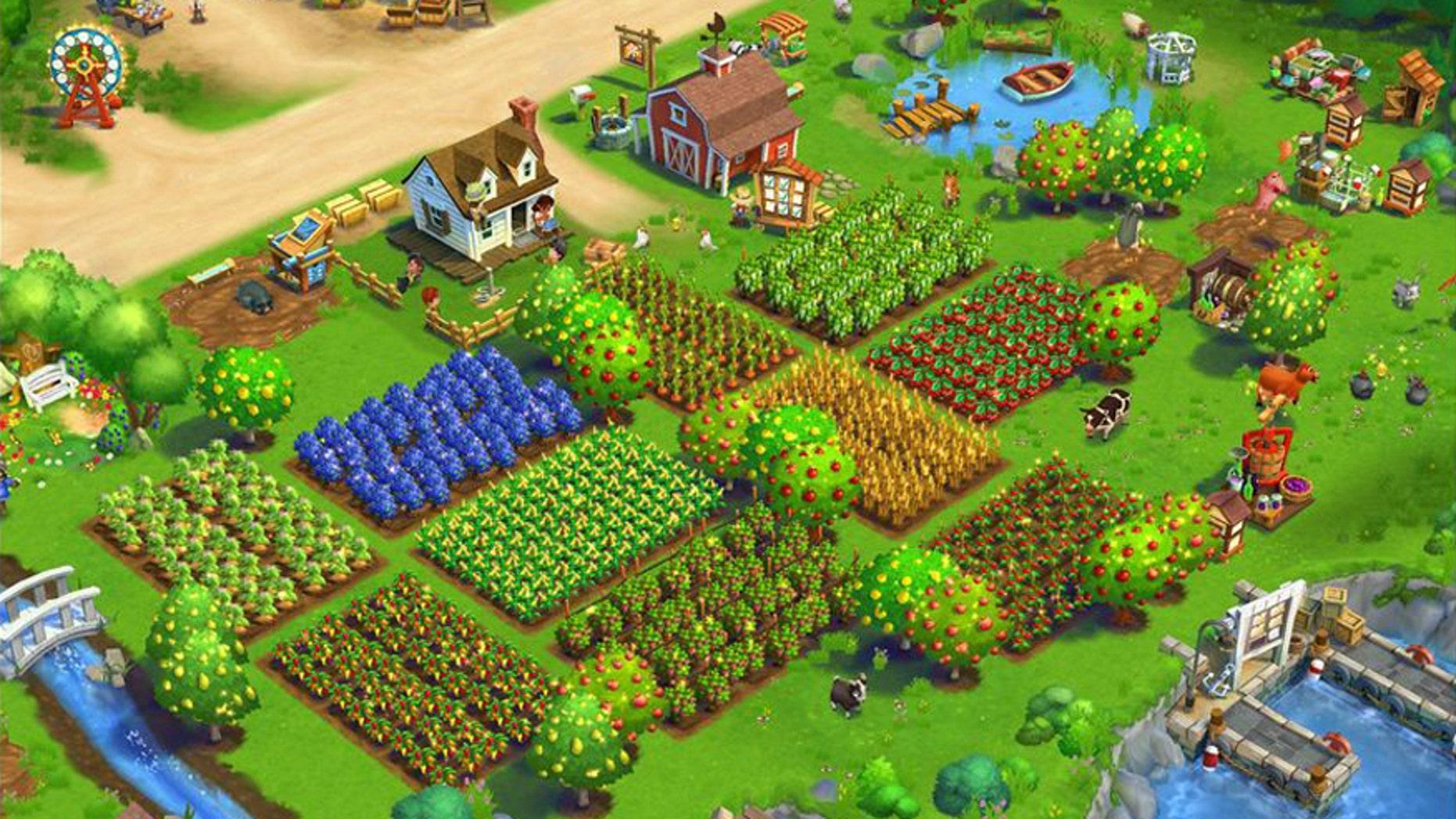 A screenshot of FarmVille 2: Country Escape.