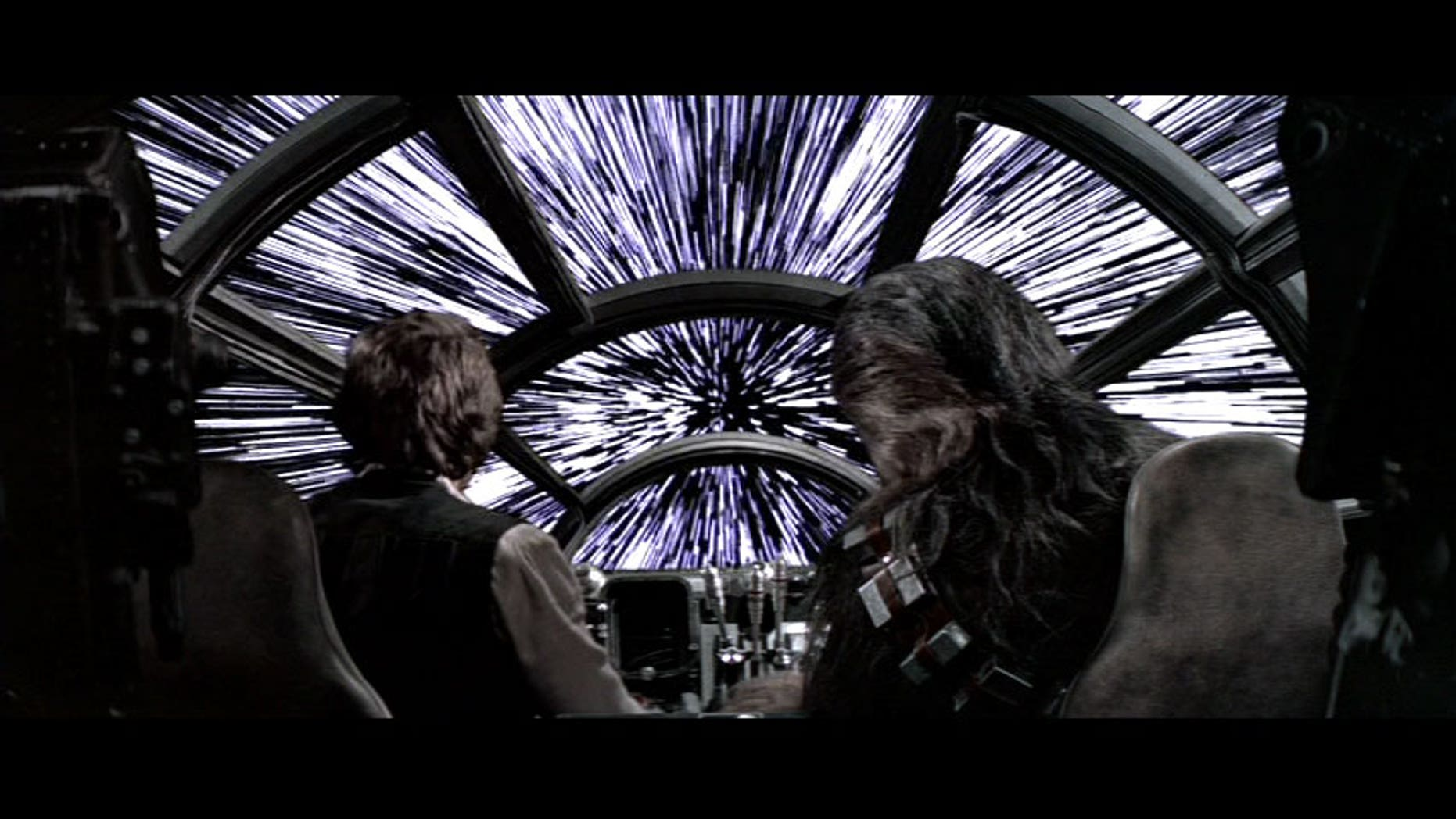 """Han Solo and Chewbacca punch the hyperdrive in """"Star Wars"""" to go light speed. Why don't we have a real one yet?"""