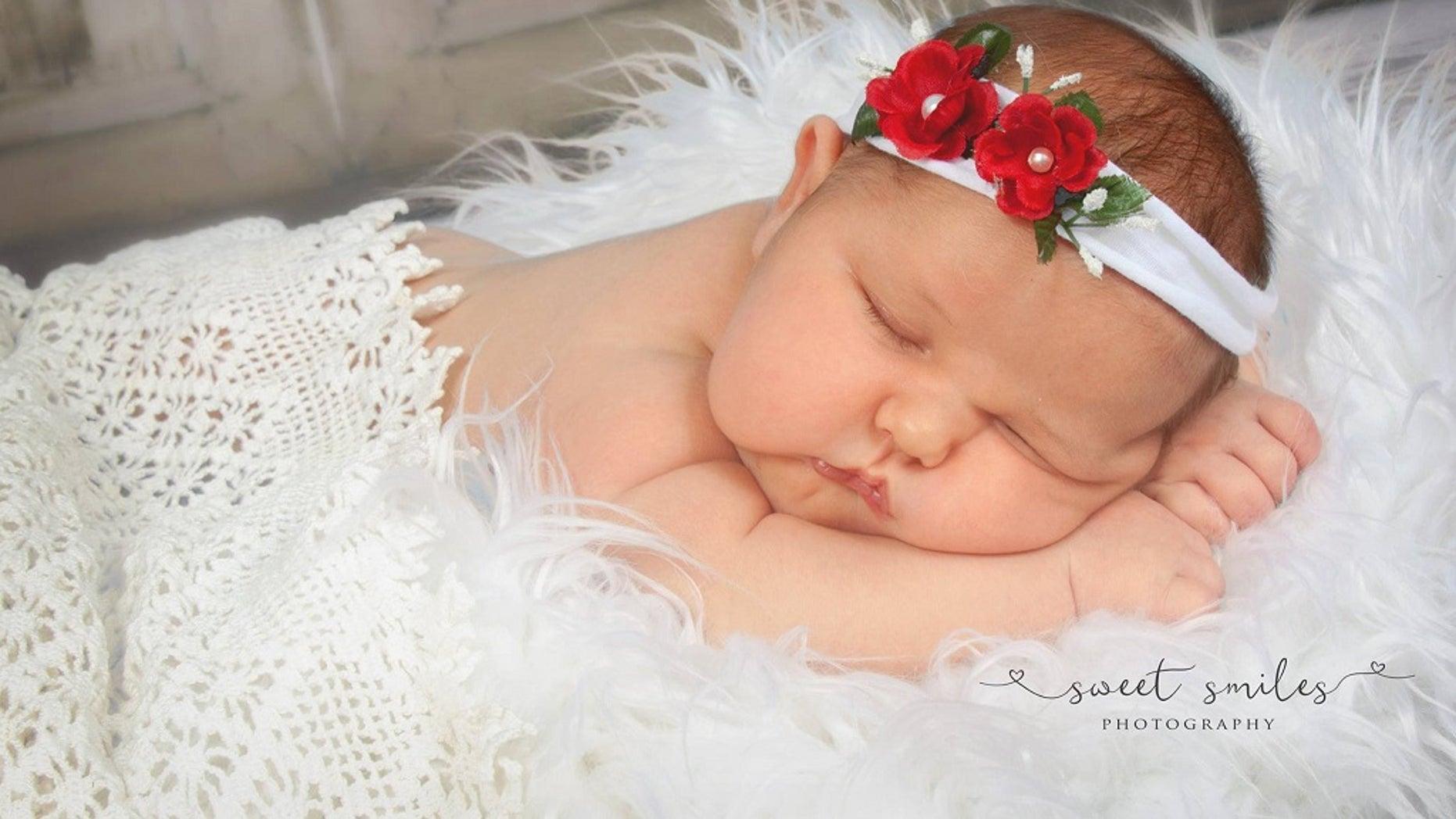 Baby Carleigh Brooke Corbitt was 13 pounds, 5 ounces when she was born May 15 at Orange Park Medical Center in Florida.