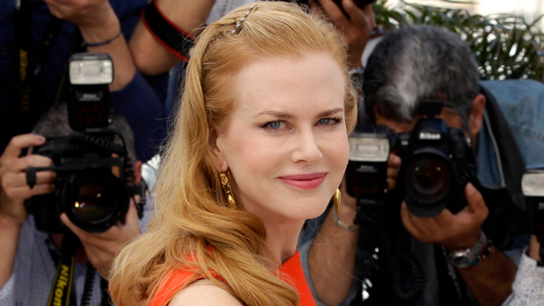 """May 24, 2012: This file photo shows actress Nicole Kidman poses during a photo call for """"The Paperboy"""" at the 65th international film festival, in Cannes, southern France."""