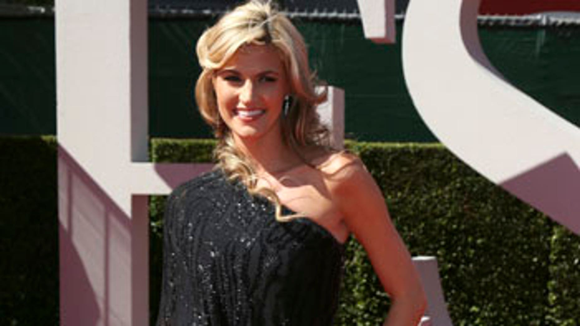 Erin Andrews at the ESPY Awards in Los Angeles on July 14, 2009.