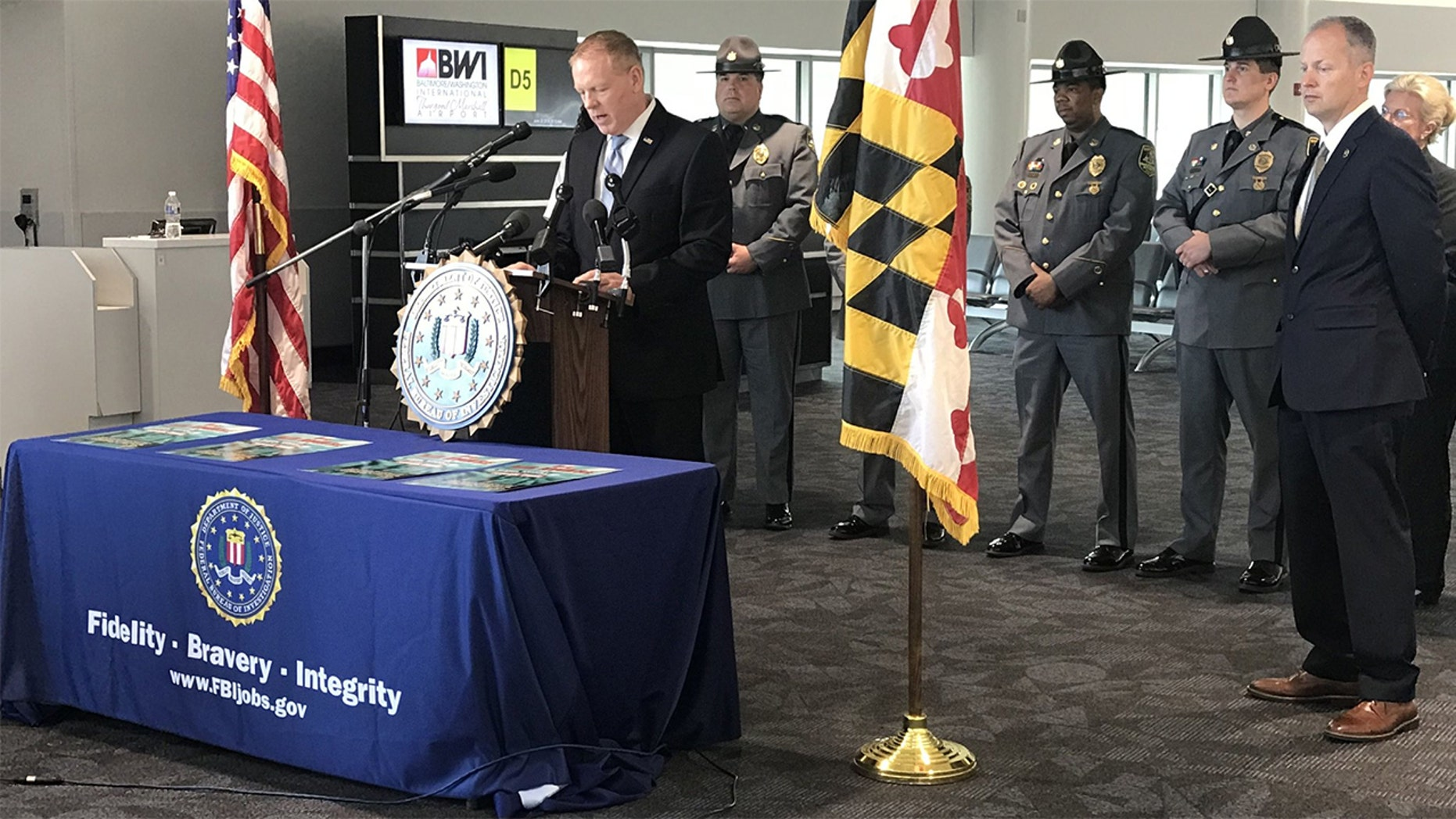 FBI Baltimore's ASAC Brian Nadeau and SA David Rodski warned the public of the increasing threat, and how travelers can stay safe.