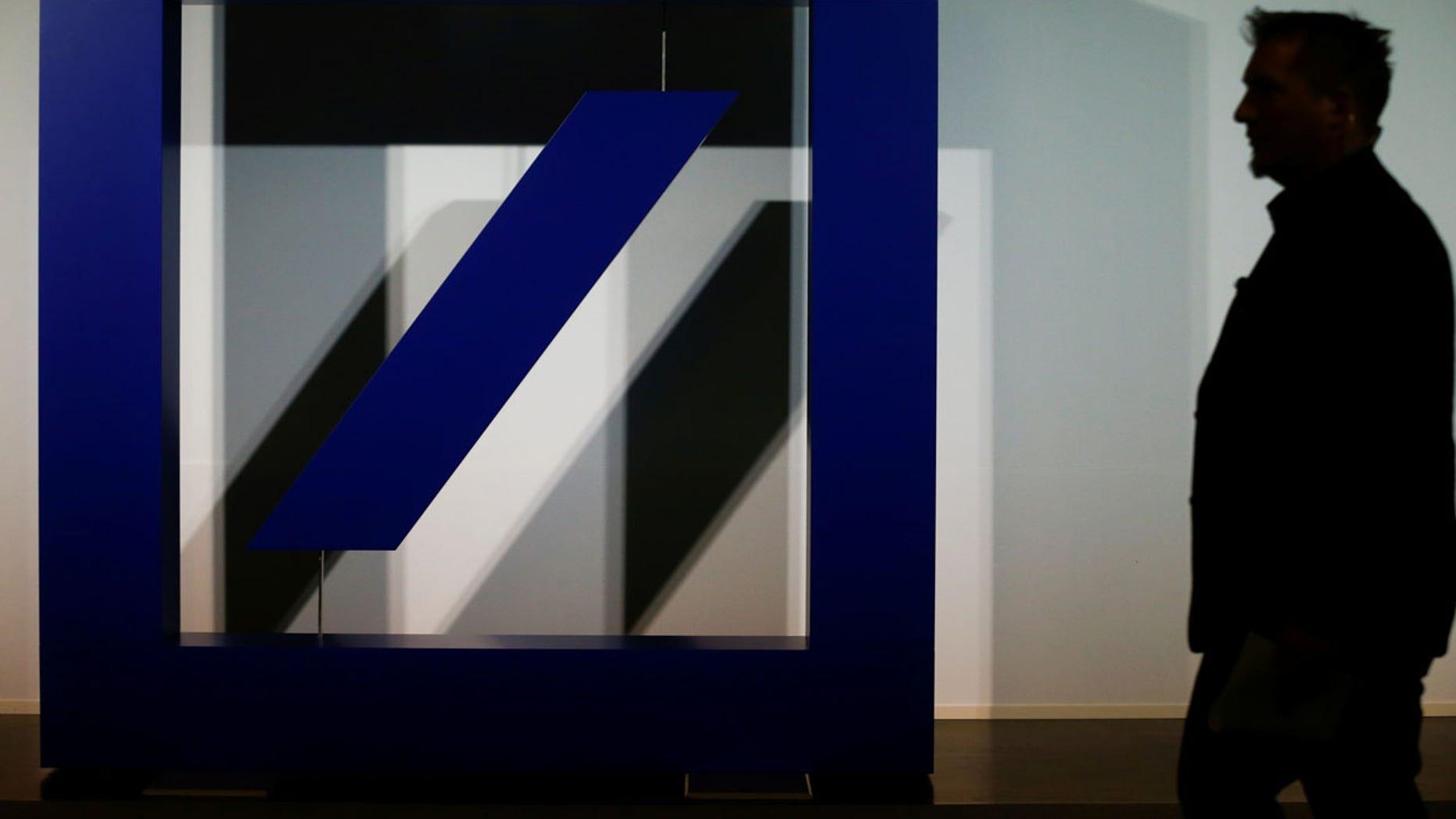 Deutsche Bank is a major correspondent bank for U.S. dollar transactions around the world.