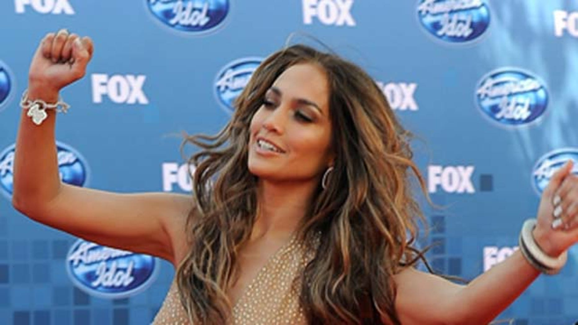 May 25, 2011: Singer/actress Jennifer Lopez arrives at Fox's 'American Idol' season 10 finale results show held at Nokia Theatre LA Live  in Los Angeles, Calif.